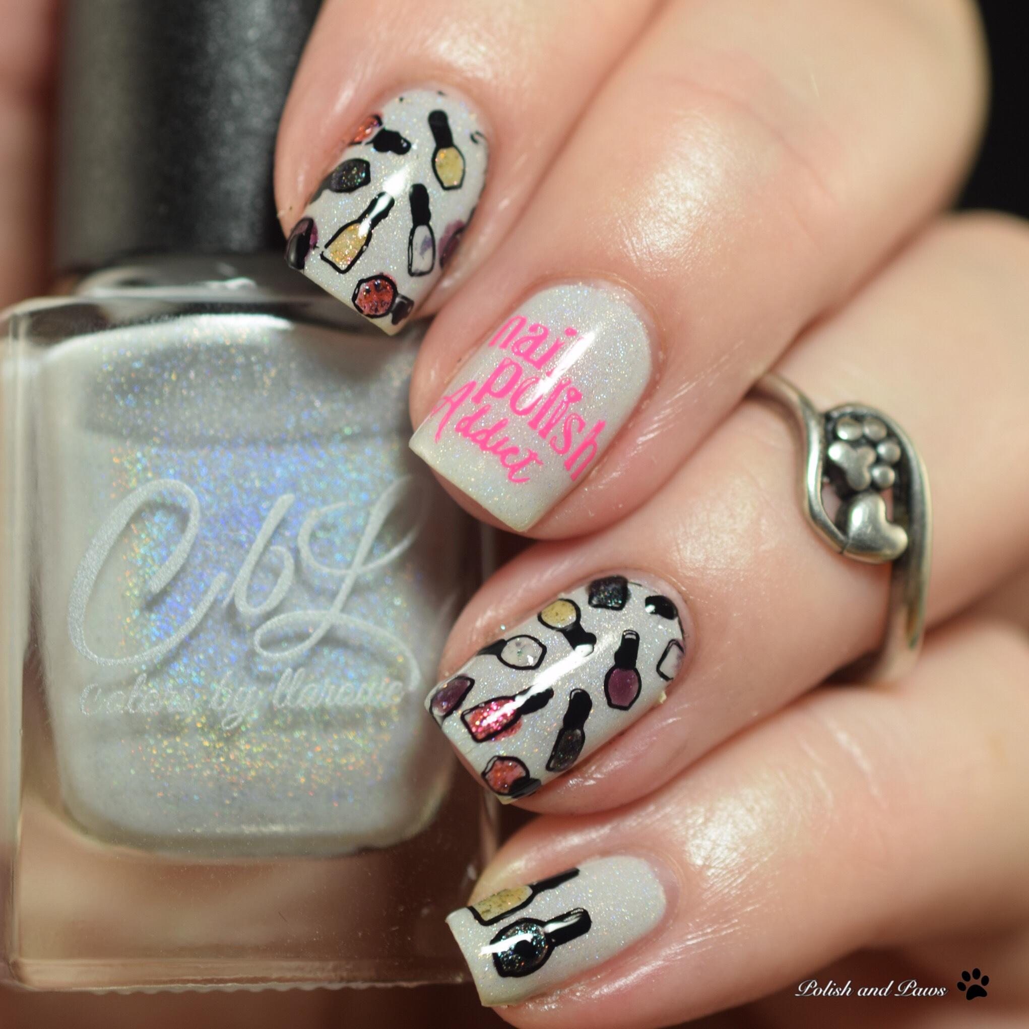 Digital Dozen Nail Polish Nails