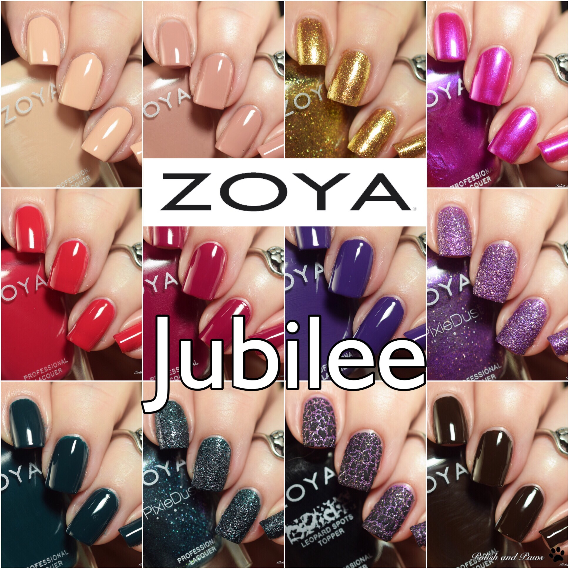 Zoya Jubilee Collection ~ Holiday 2018