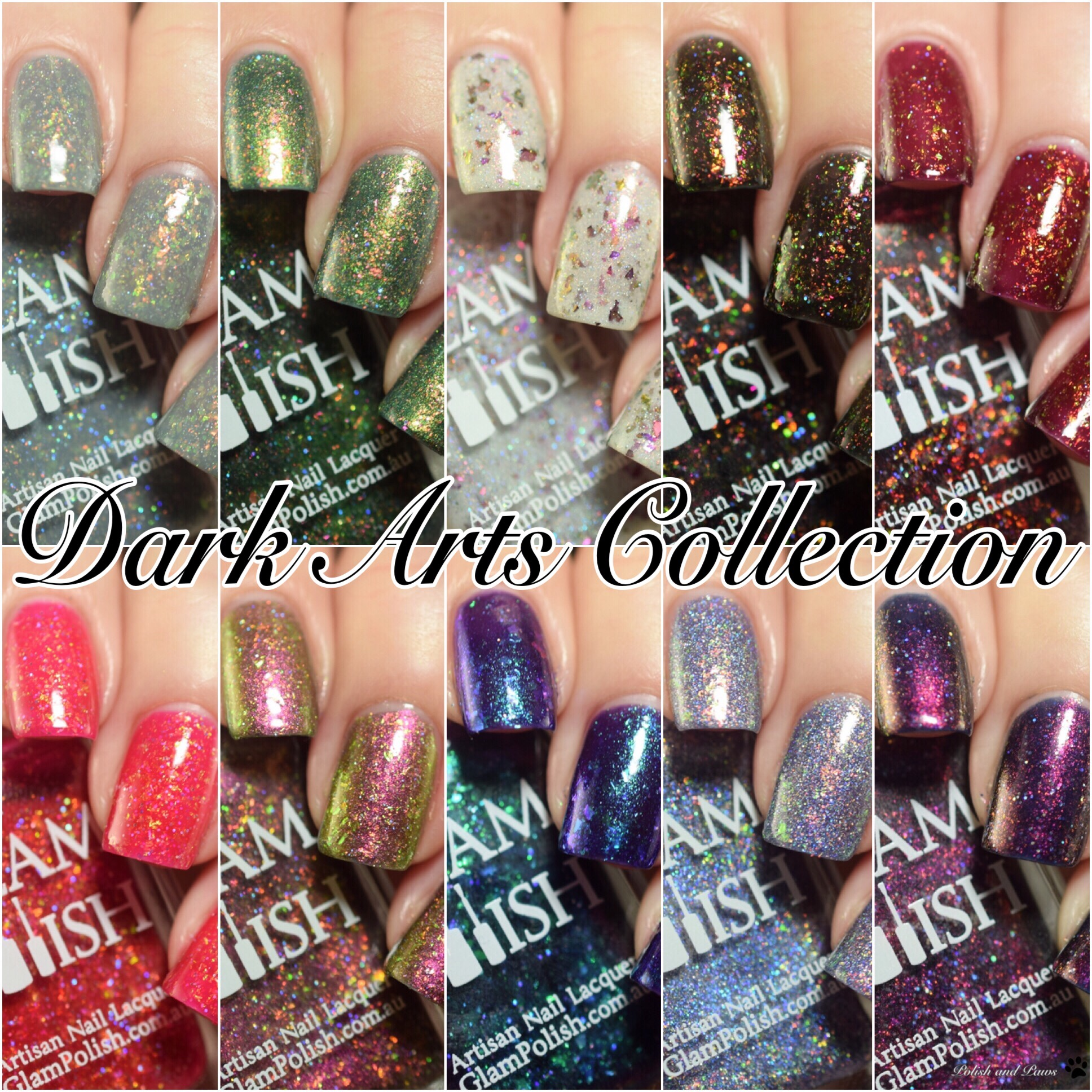 Glam Polish Dark Arts Collection LE