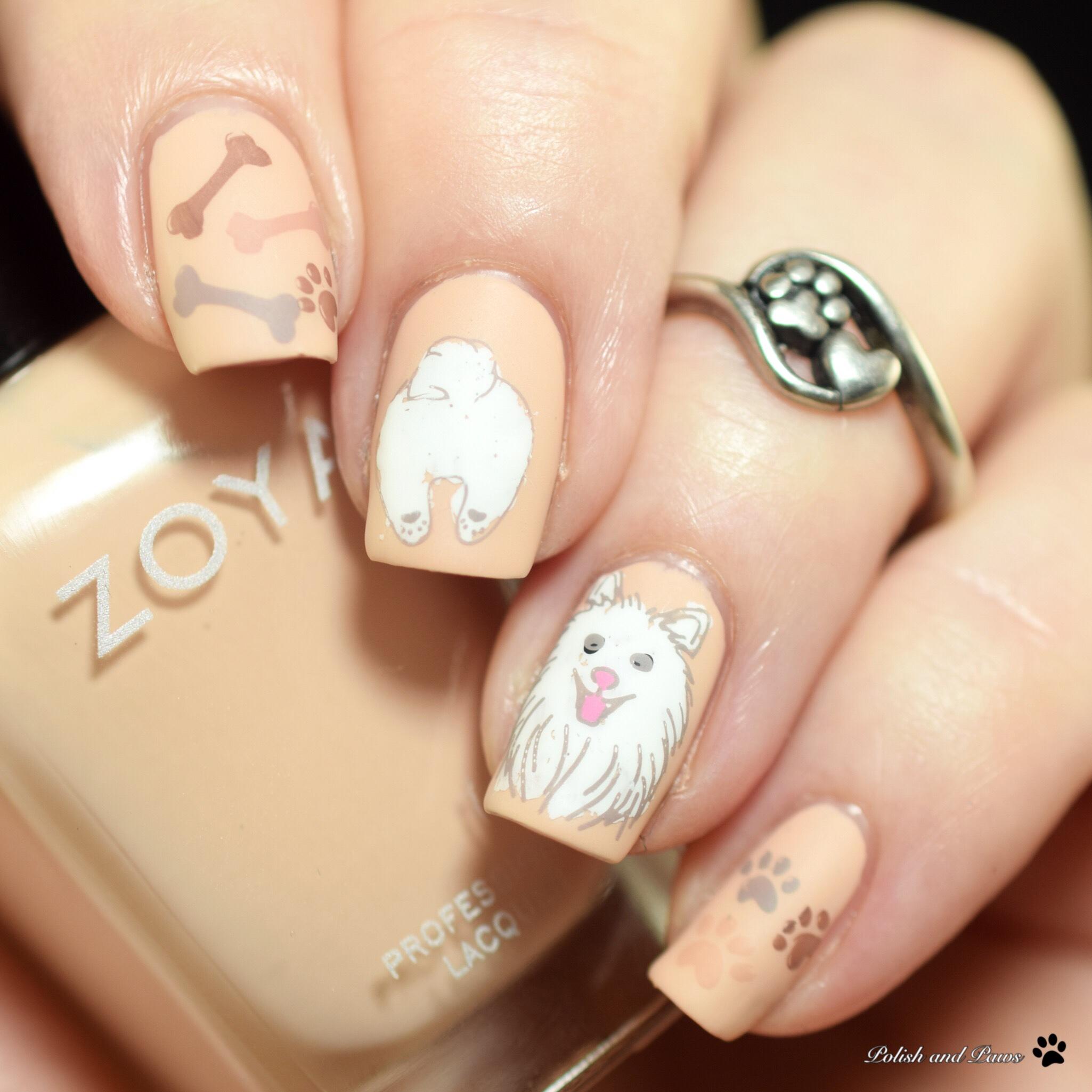 Digital Dozen Polish and Paws Dog Nails