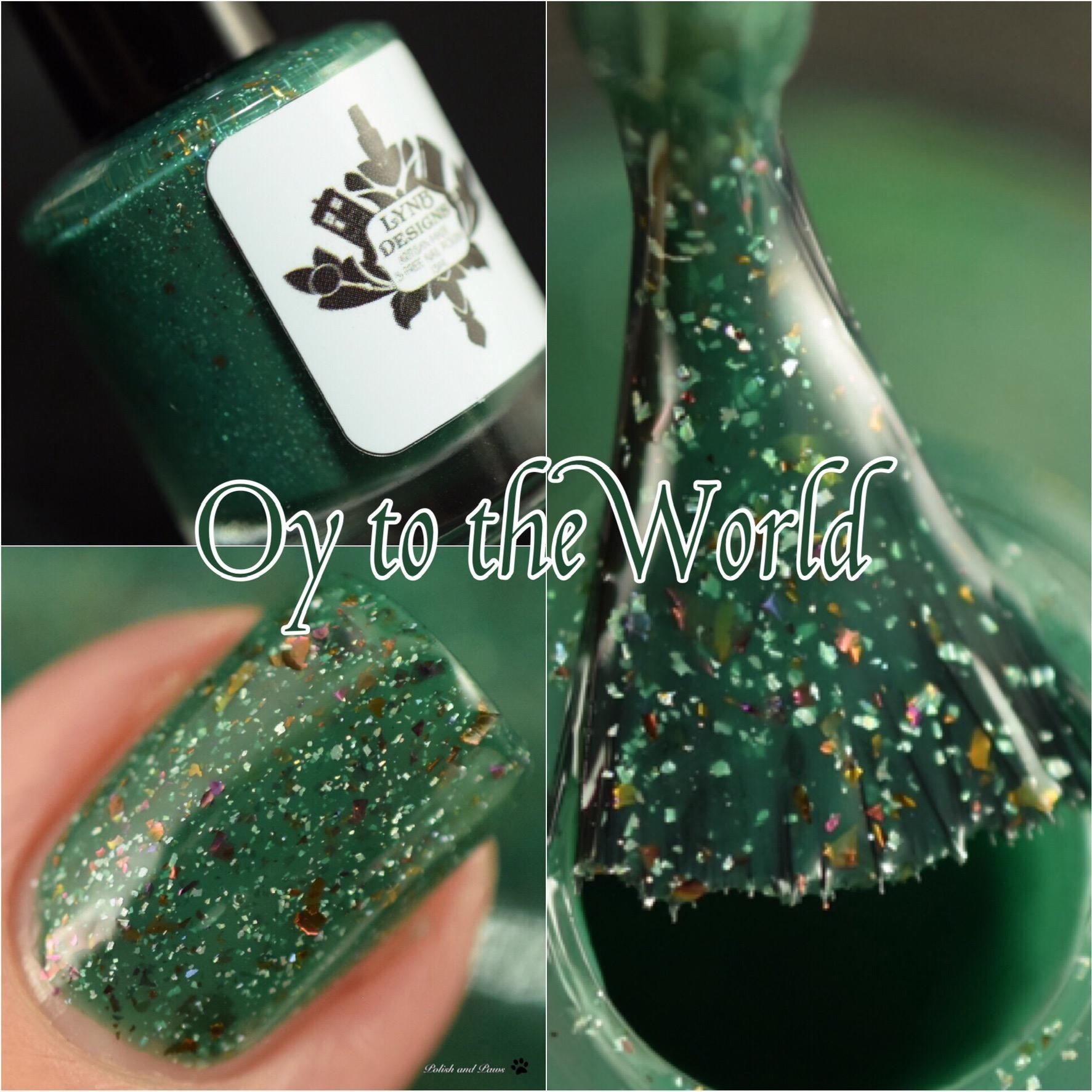 LynB Designs Oy to the World