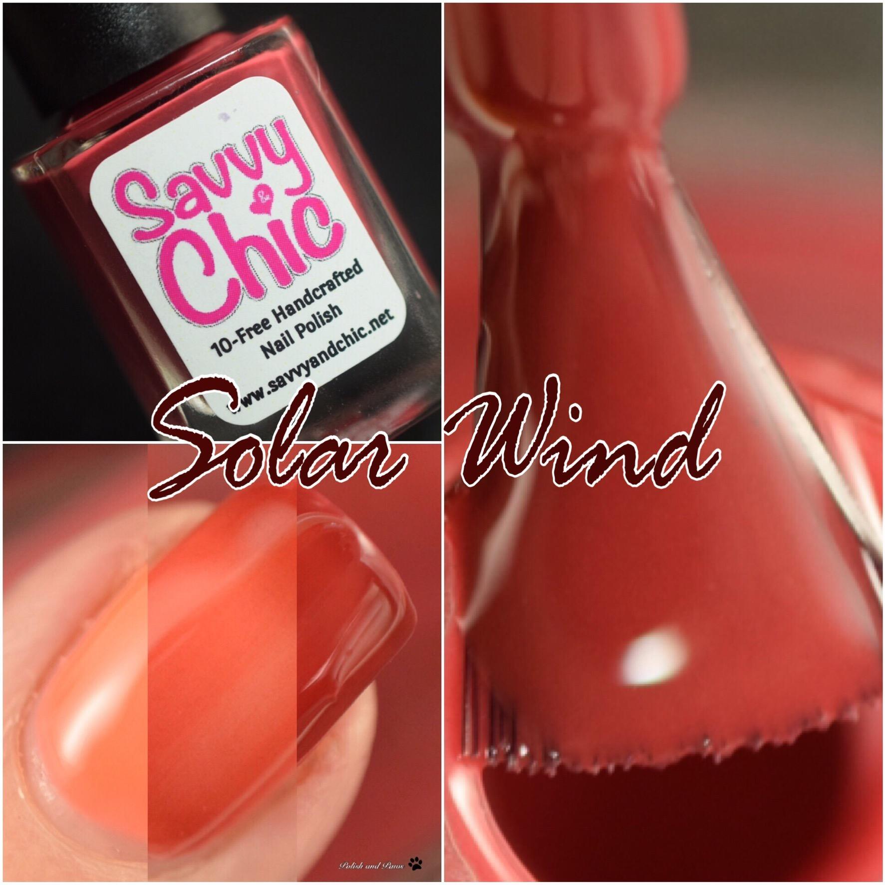 Savvy & Chic Solar Wind
