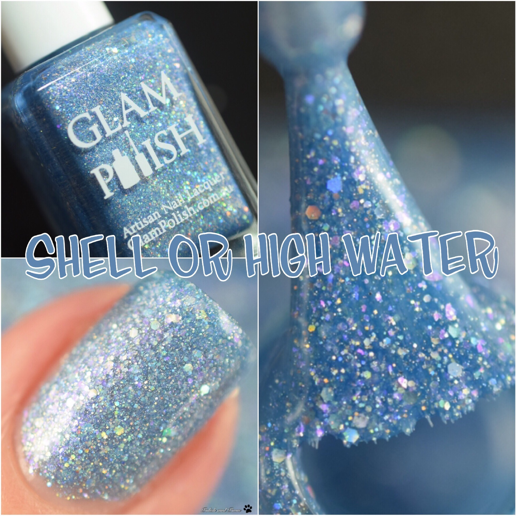 Glam Polish Shell or High Water