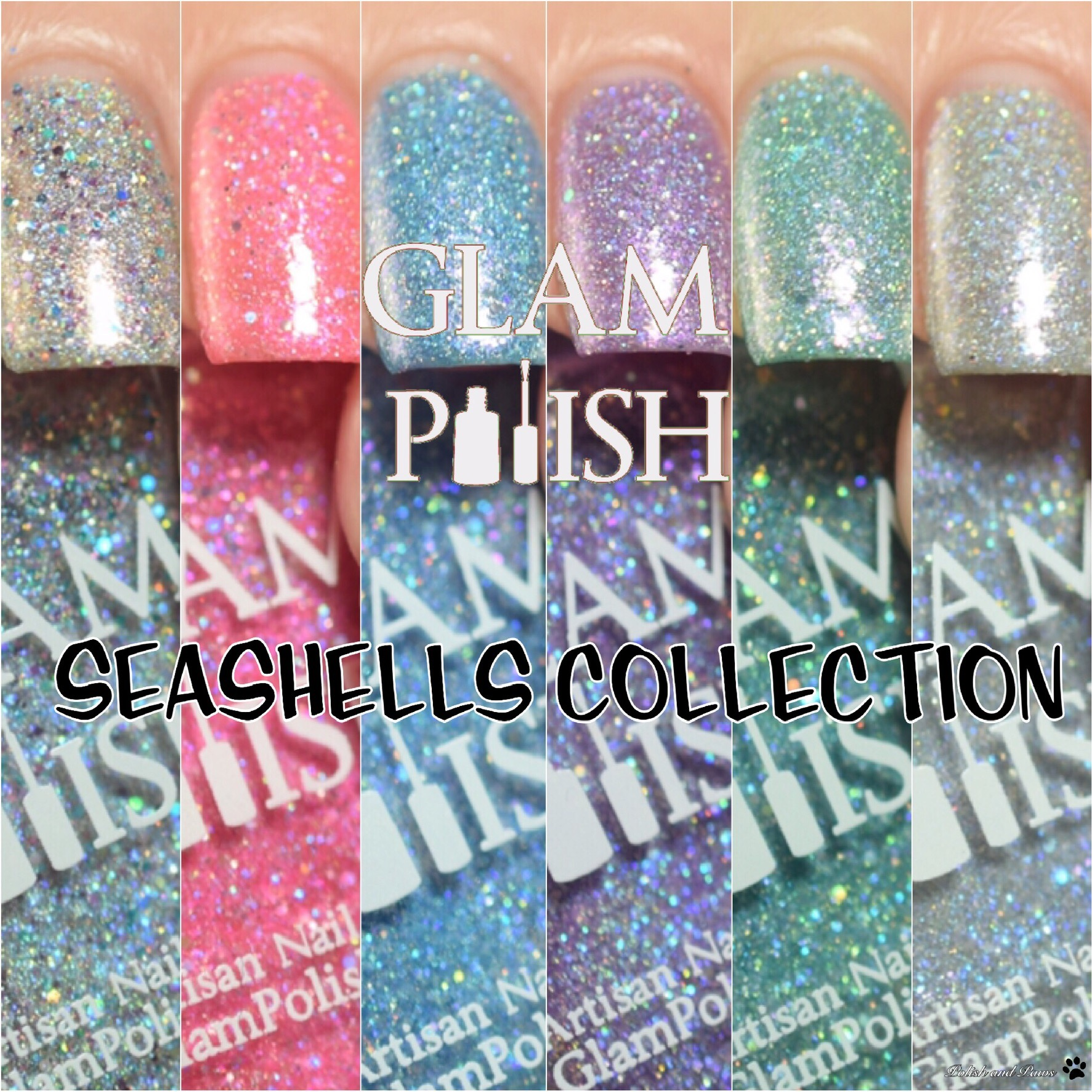 Glam Polish Seashells Collection ~ Limited Edition