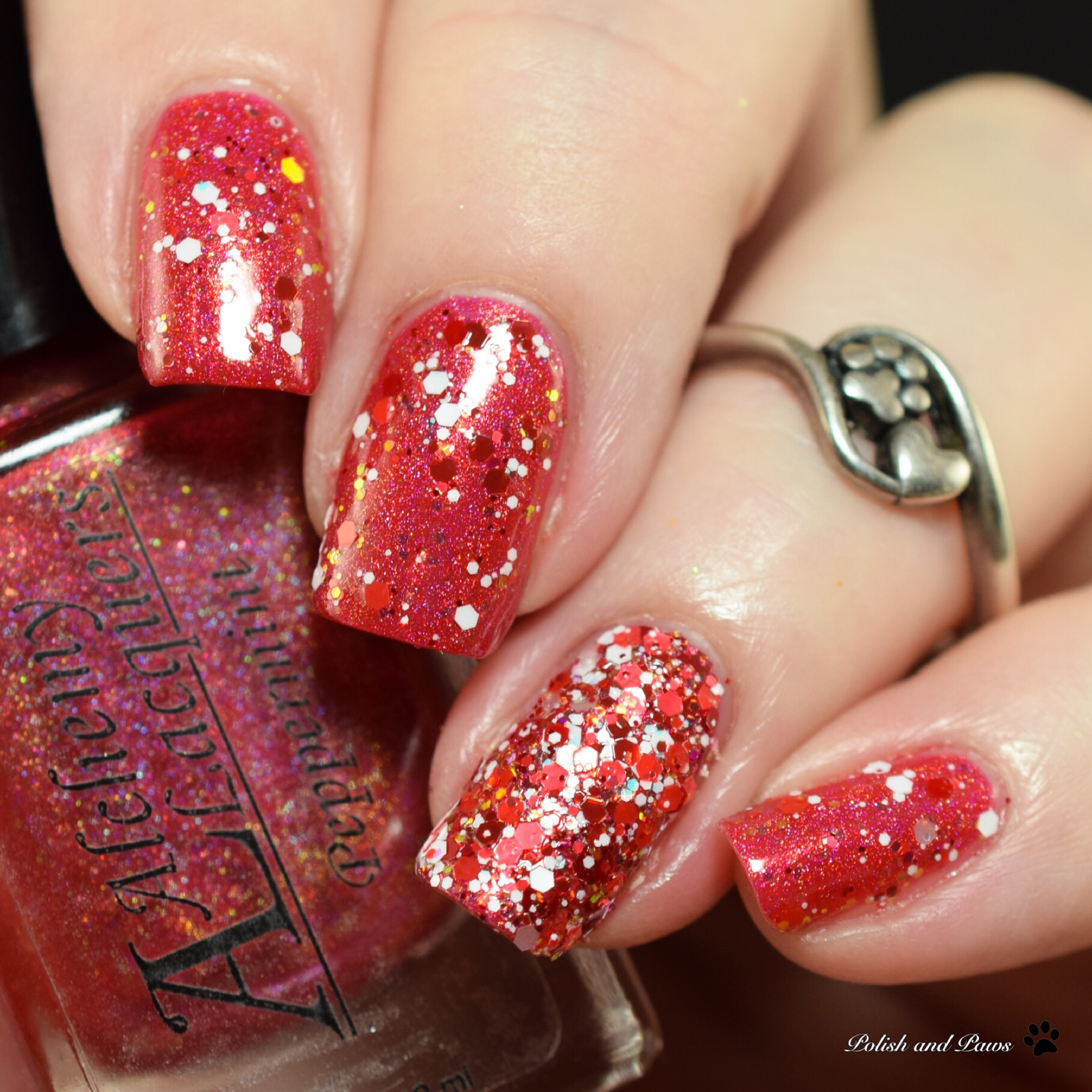Alchemy Lacquers Candy Cane