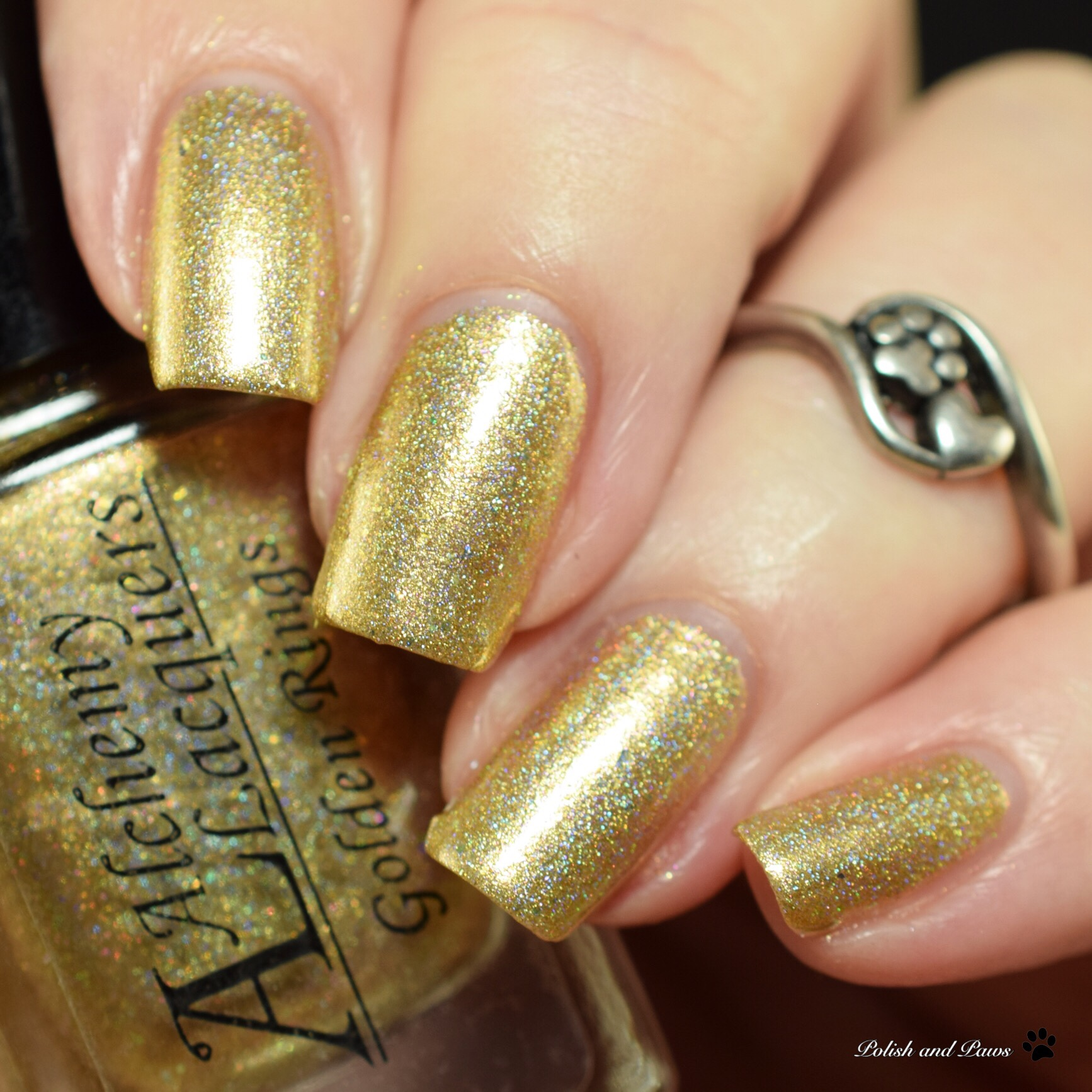 Alchemy Lacquers Golden Rings
