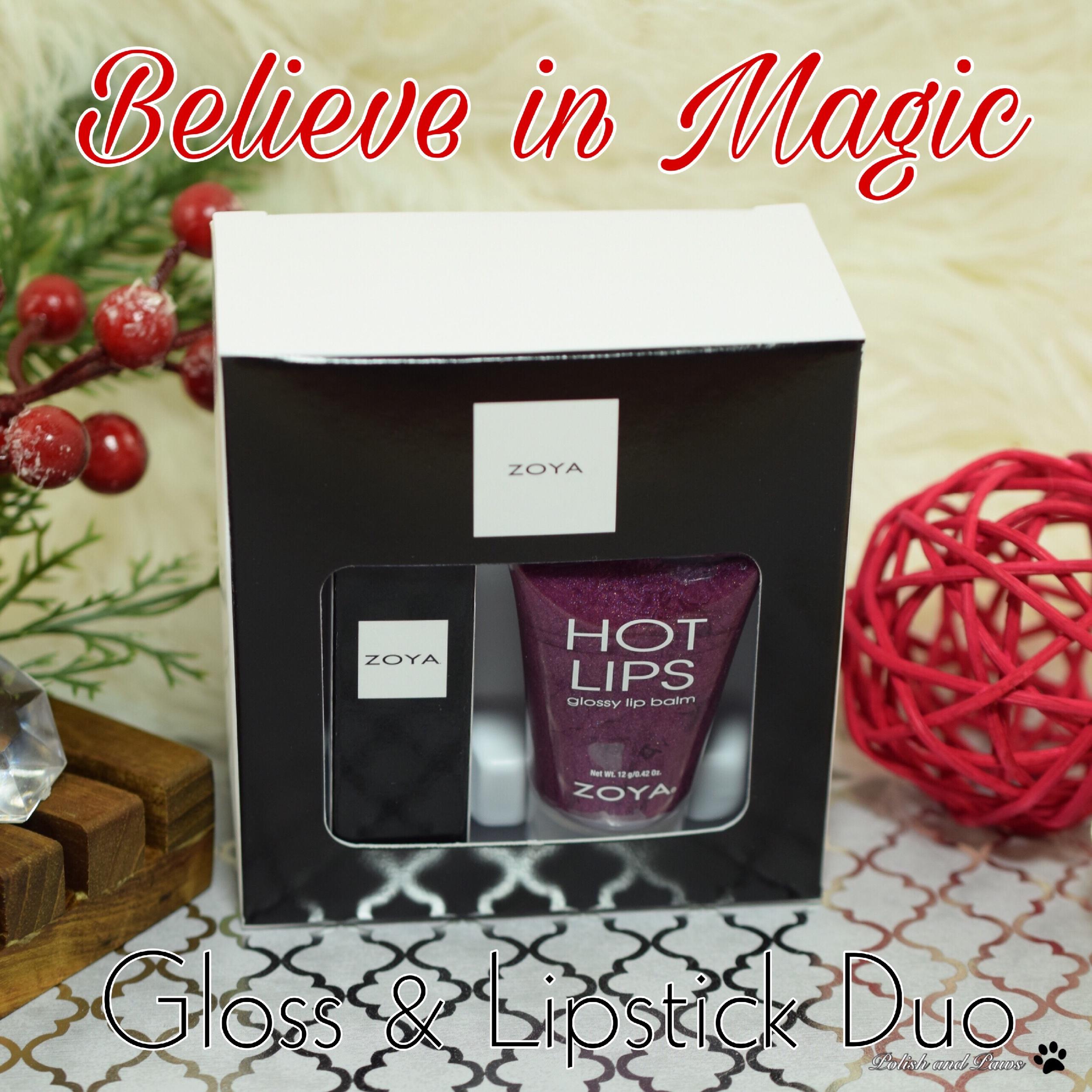 Zoya Believe in Magic Gloss & Lipstick Duo