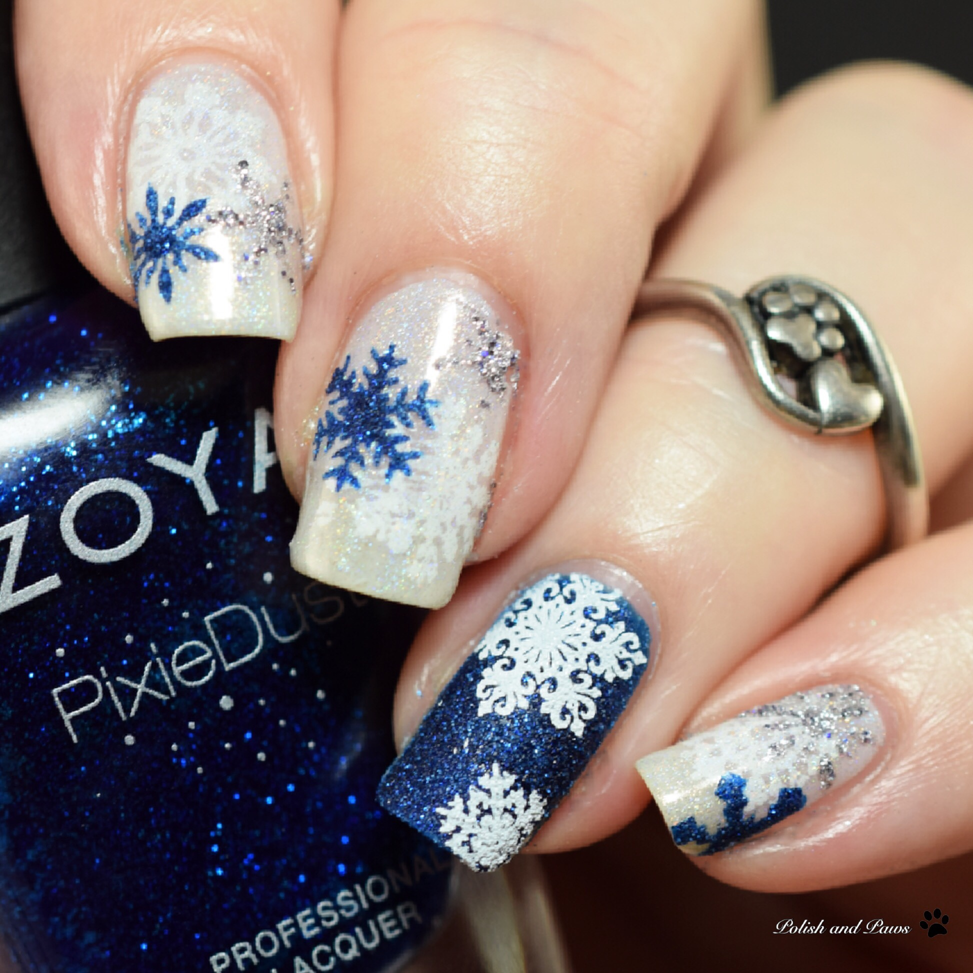 The Digit-al Dozen does Holo: Holoday Nails Day 4