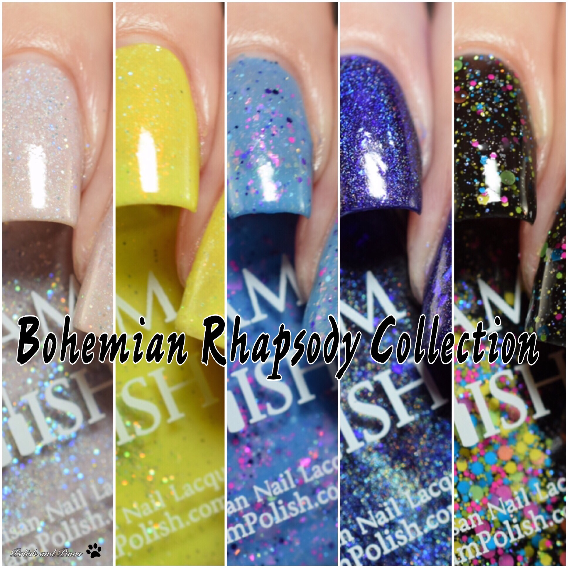 Glam Polish Bohemian Rhapsody Collection