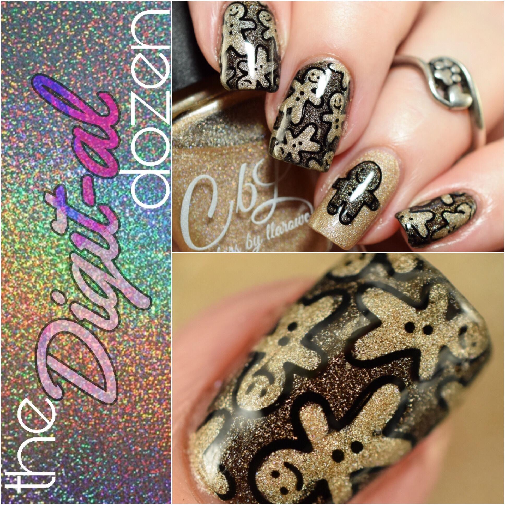 The Digit-al Dozen does Holo: Holoday Nails Day 3