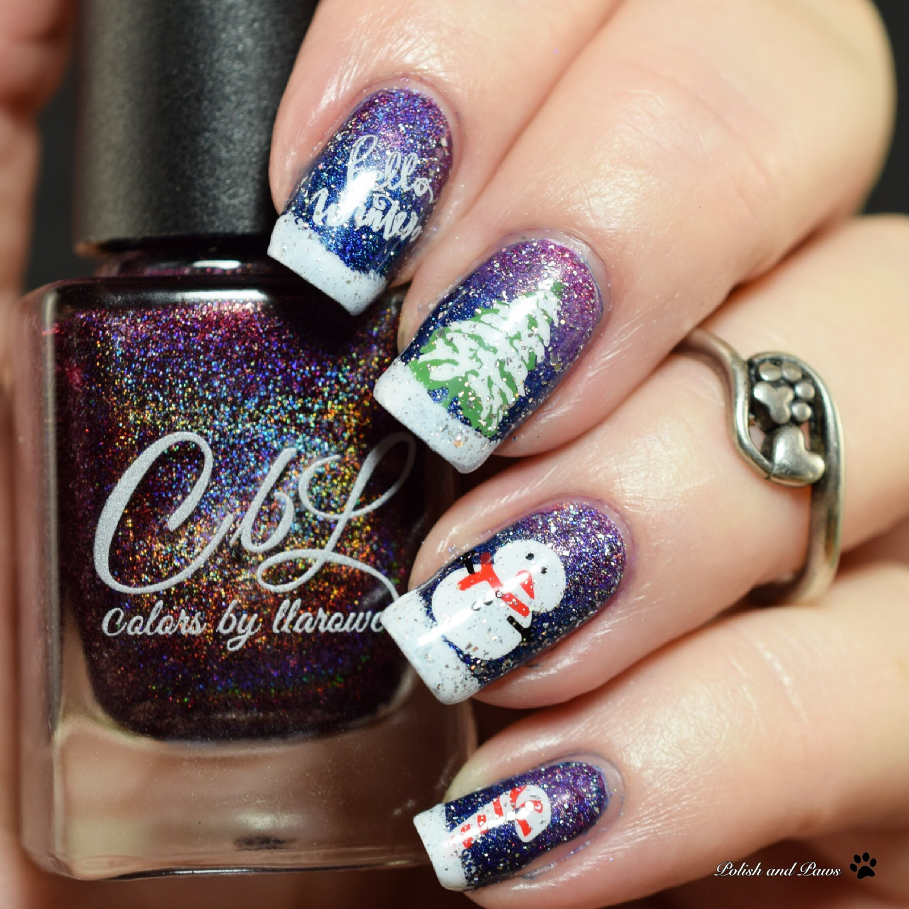 The Digit-al Dozen does Holo: Holoday Nails Day 5