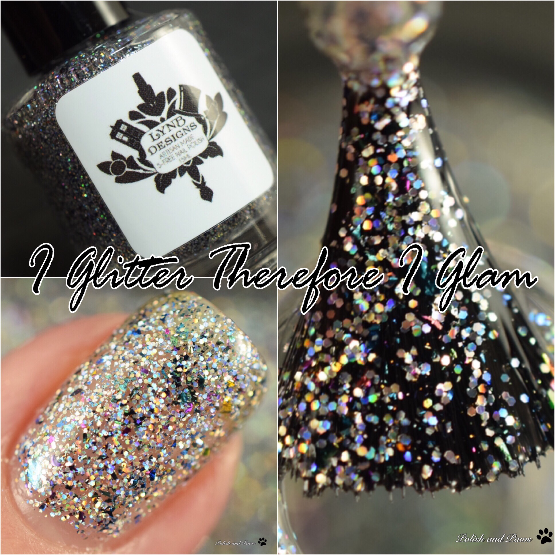 LynB Designs I Glitter Therefore I Glam