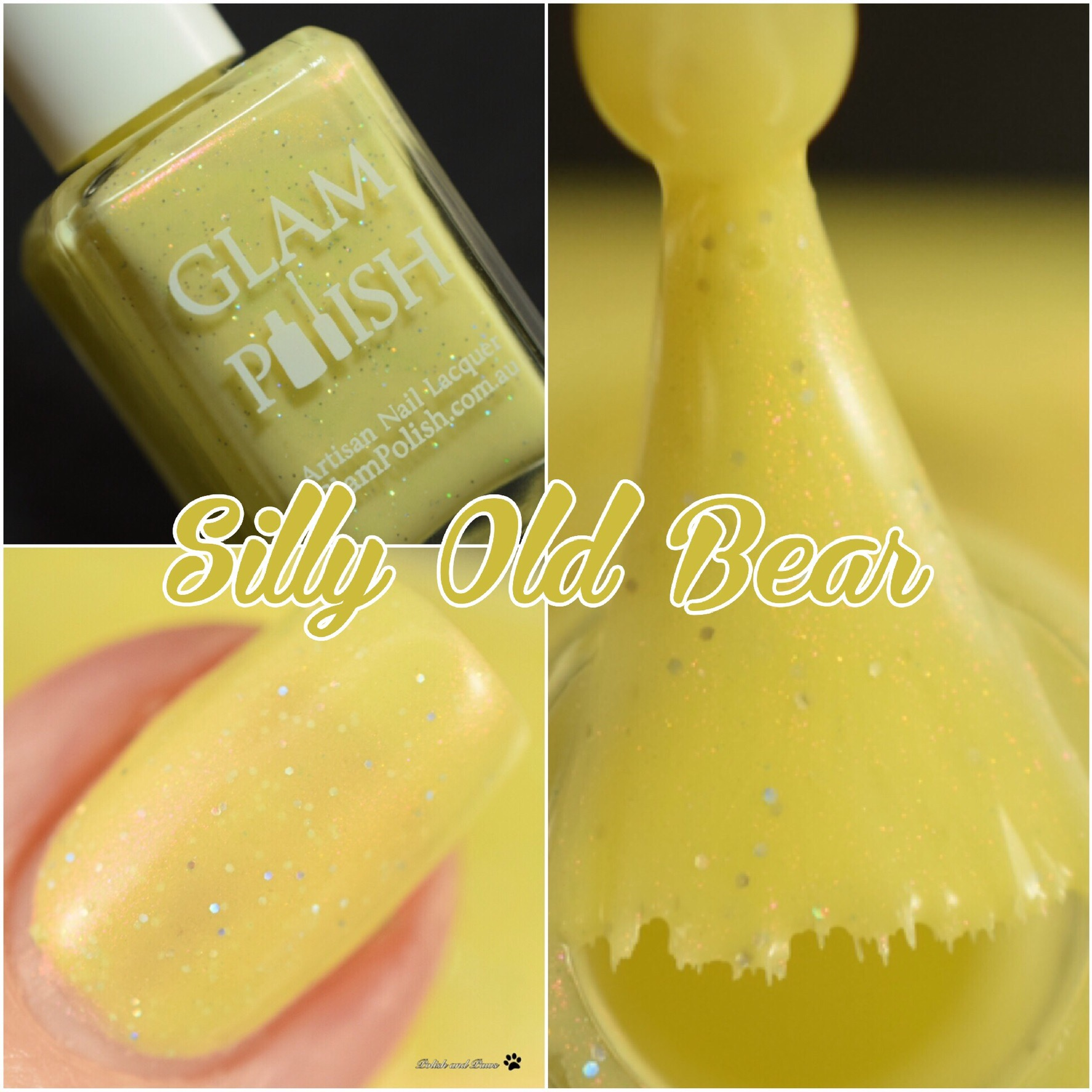 Glam Polish Silly Old Bear