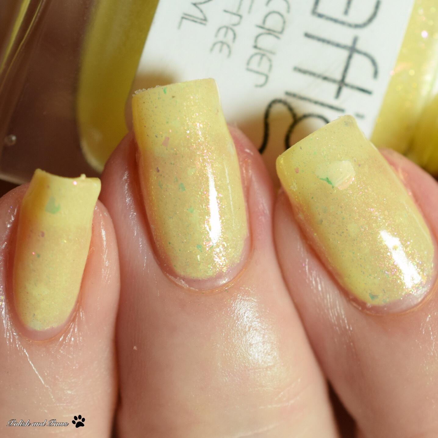 Zaftig Lacquer Daffodil