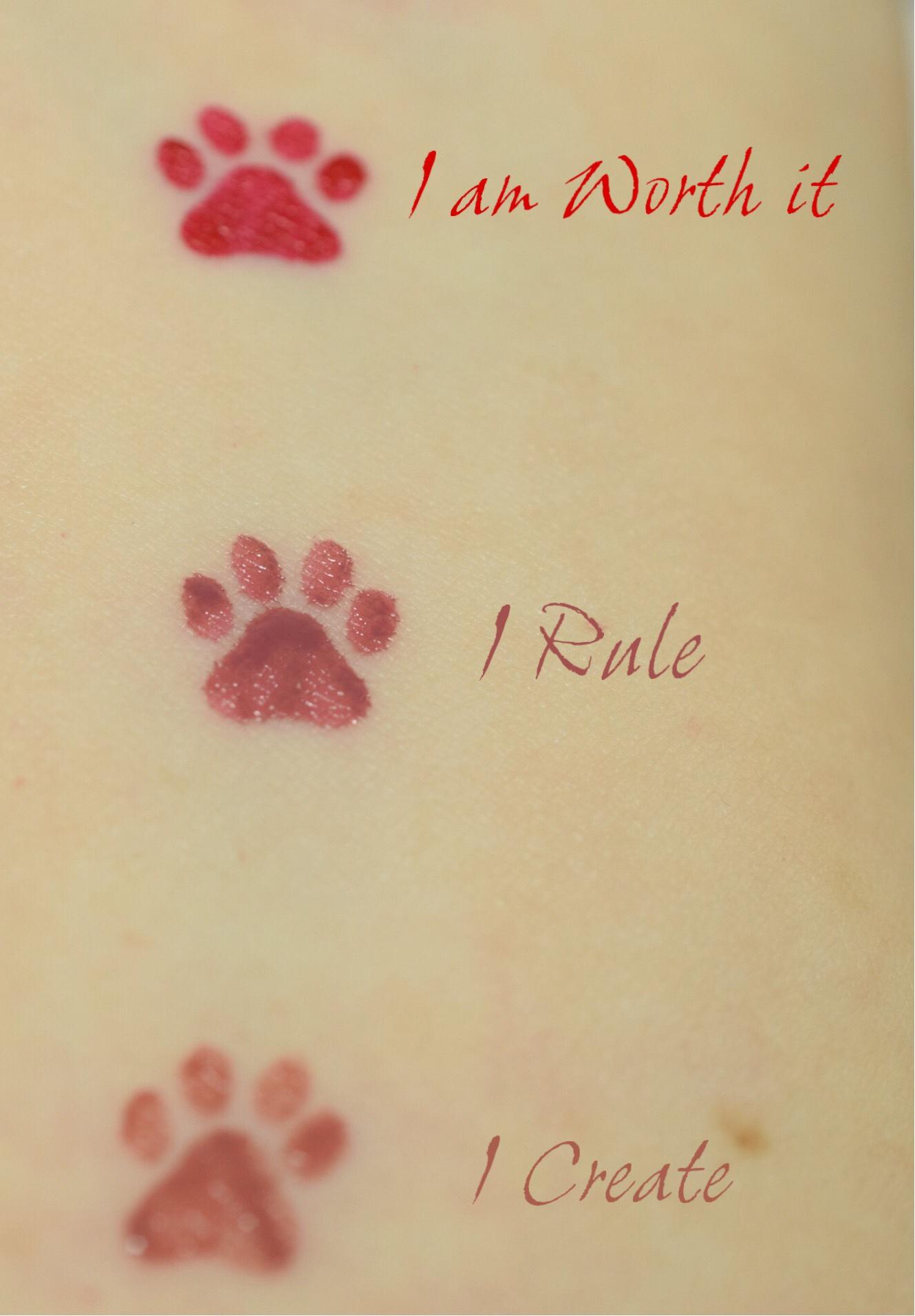 L'Oreal Paris Rouge Signature