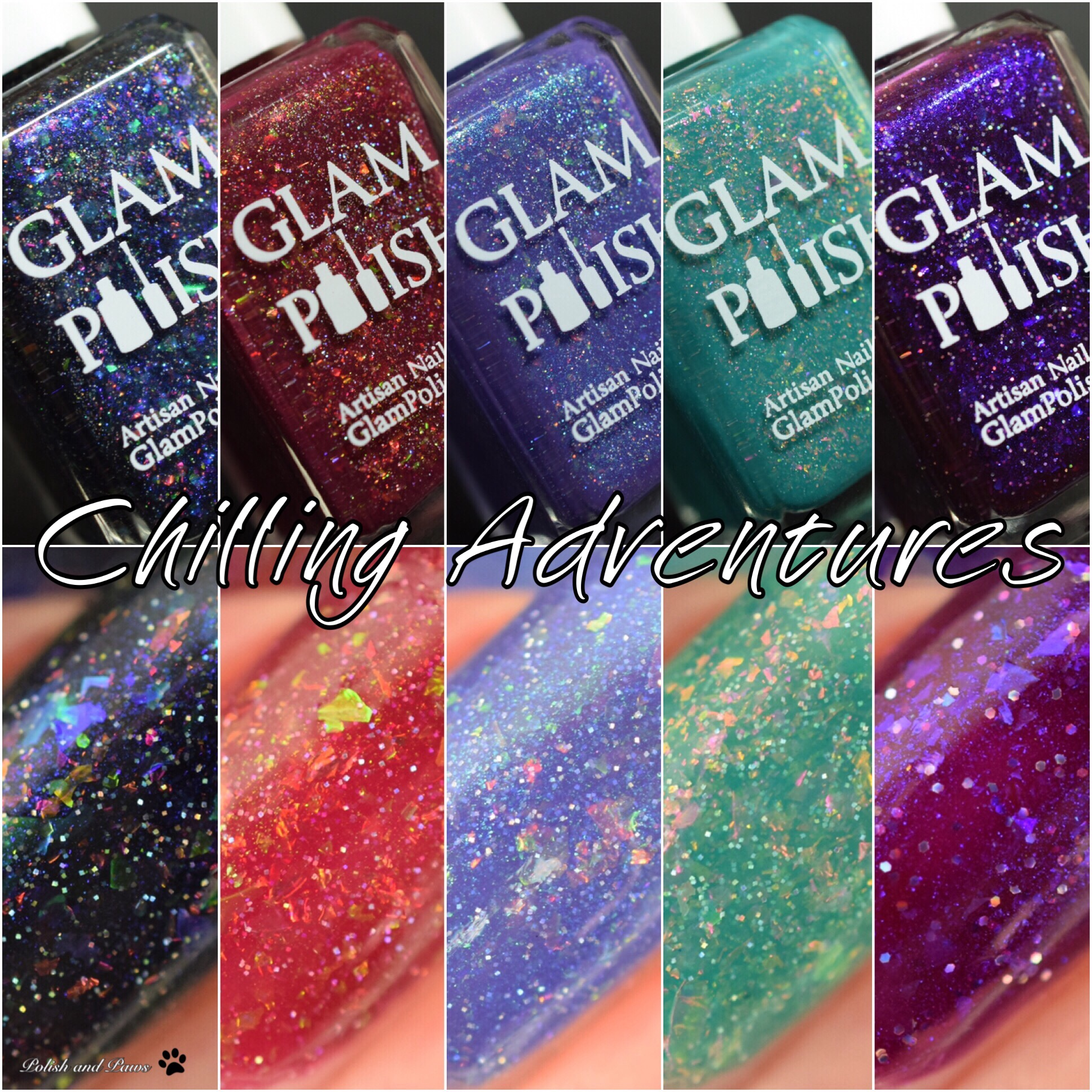Glam Polish Chilling Adventures Collection