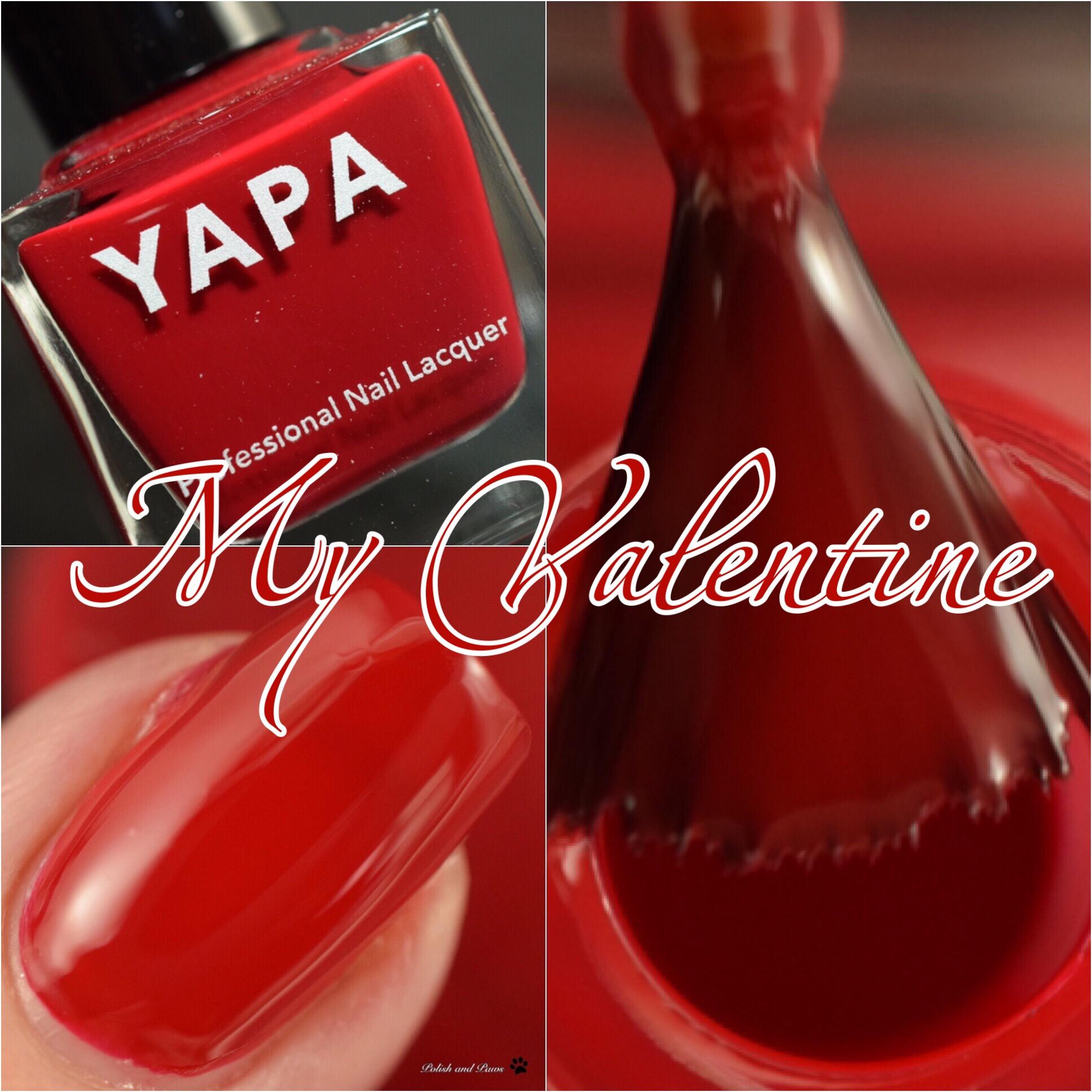 YAPA Nail Polish My Valentine