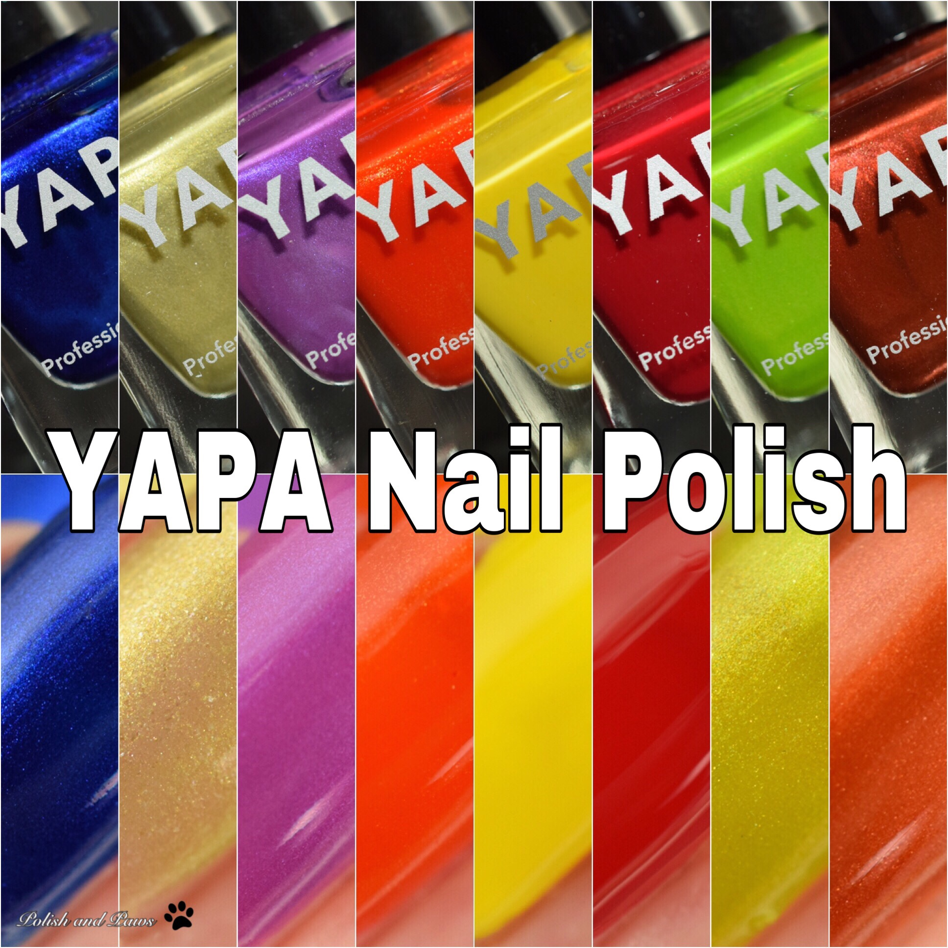 YAPA Nail Polish ~ Swatch and Review