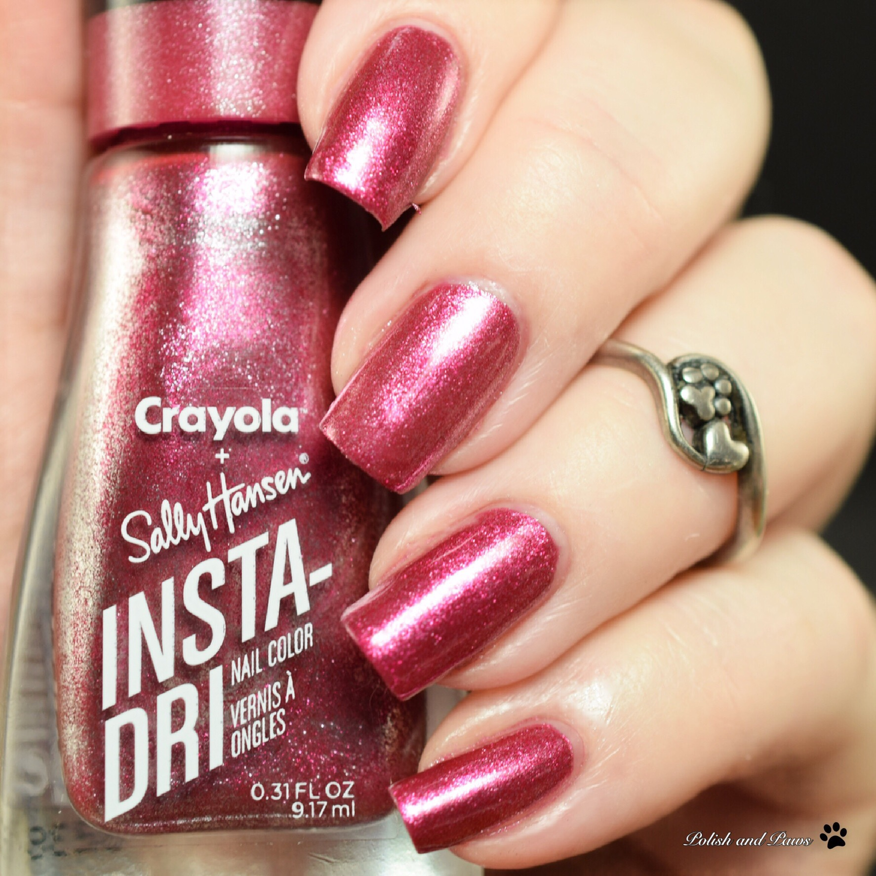 Sally Hansen Crayola Shimmering Blush