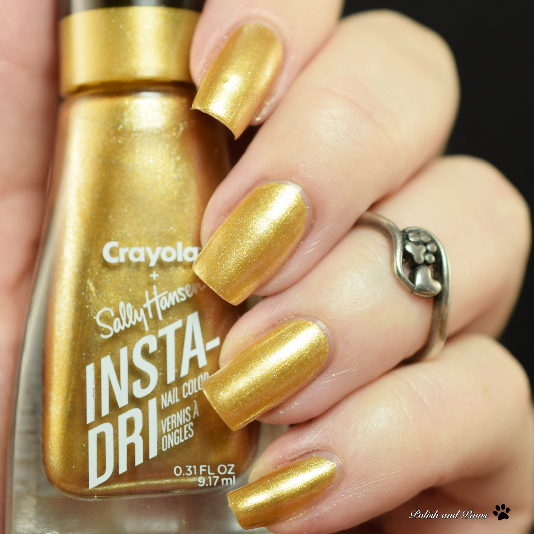 Sally Hansen Crayola Metallic Sunburst
