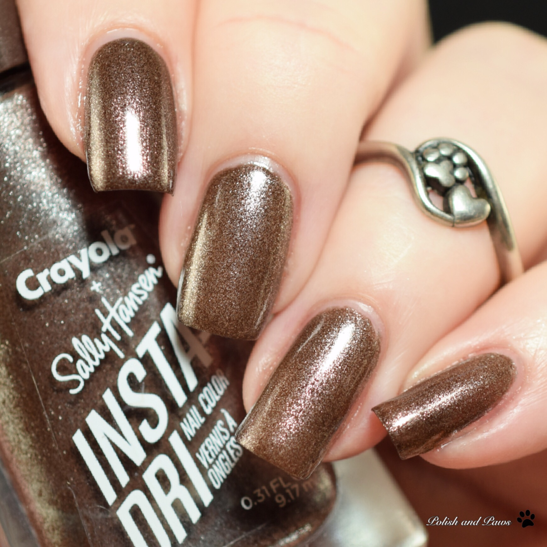 Sally Hansen Crayola Blast Off Bronze