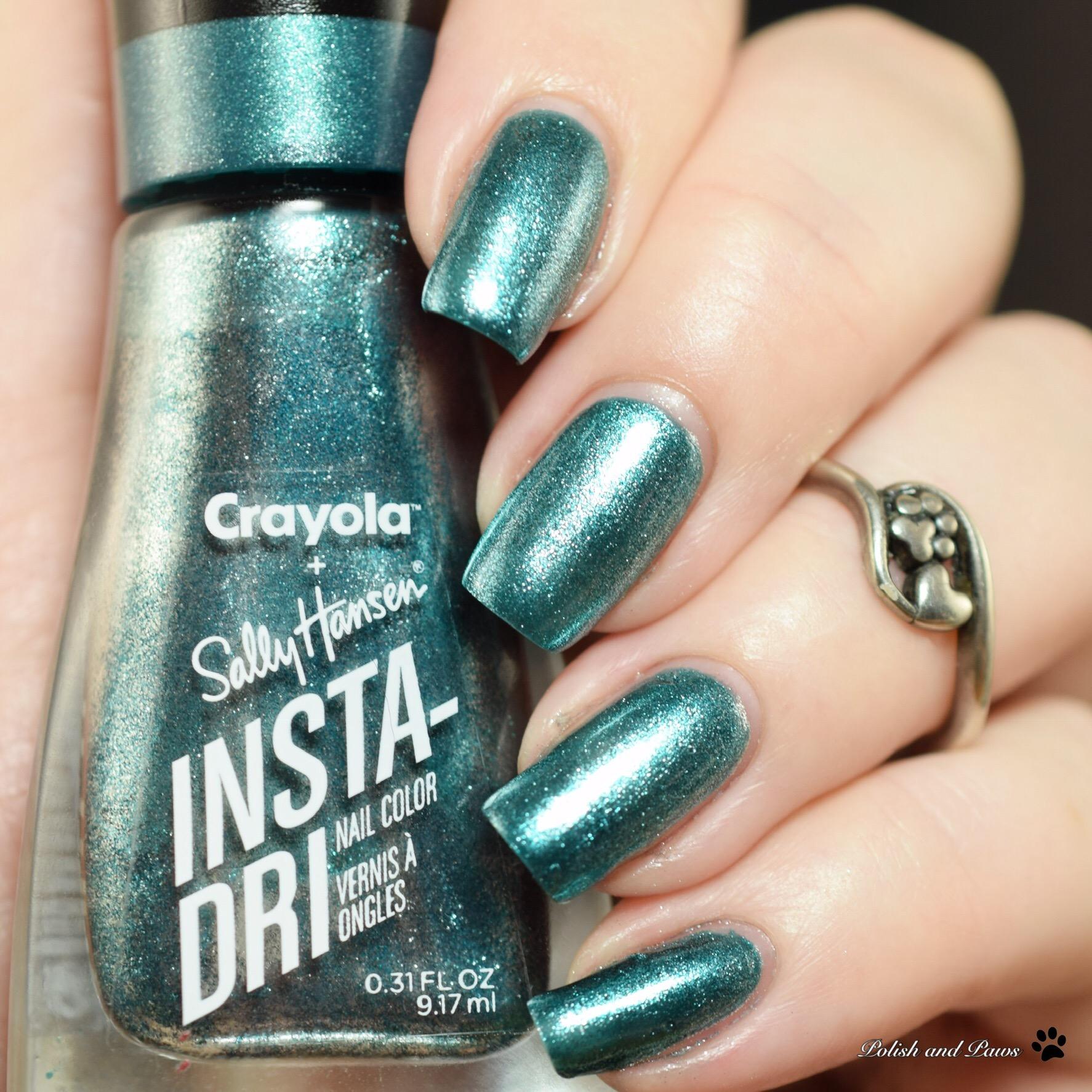 Sally Hansen Crayola Metallic Seaweed