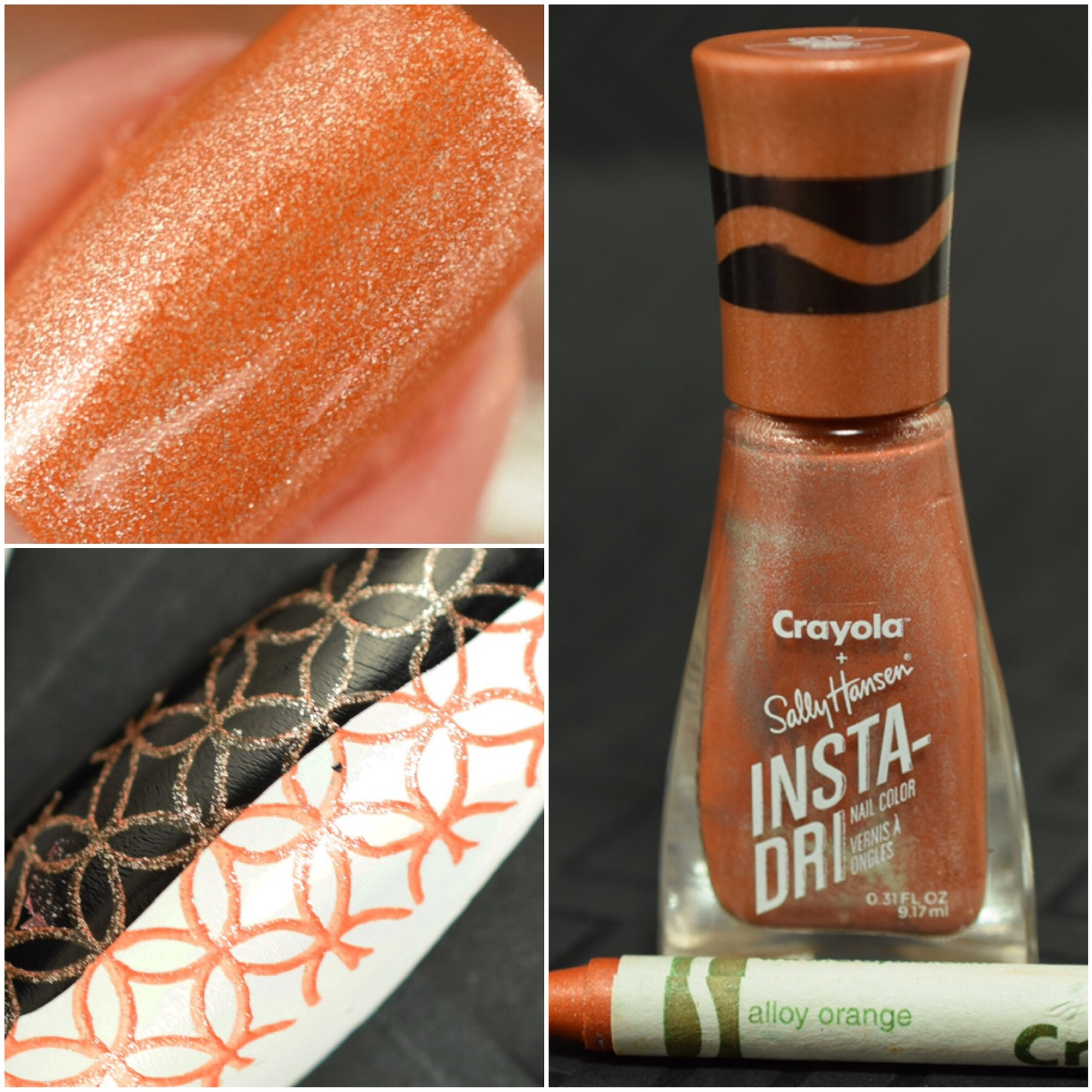 Sally Hansen Crayola Alloy Orange