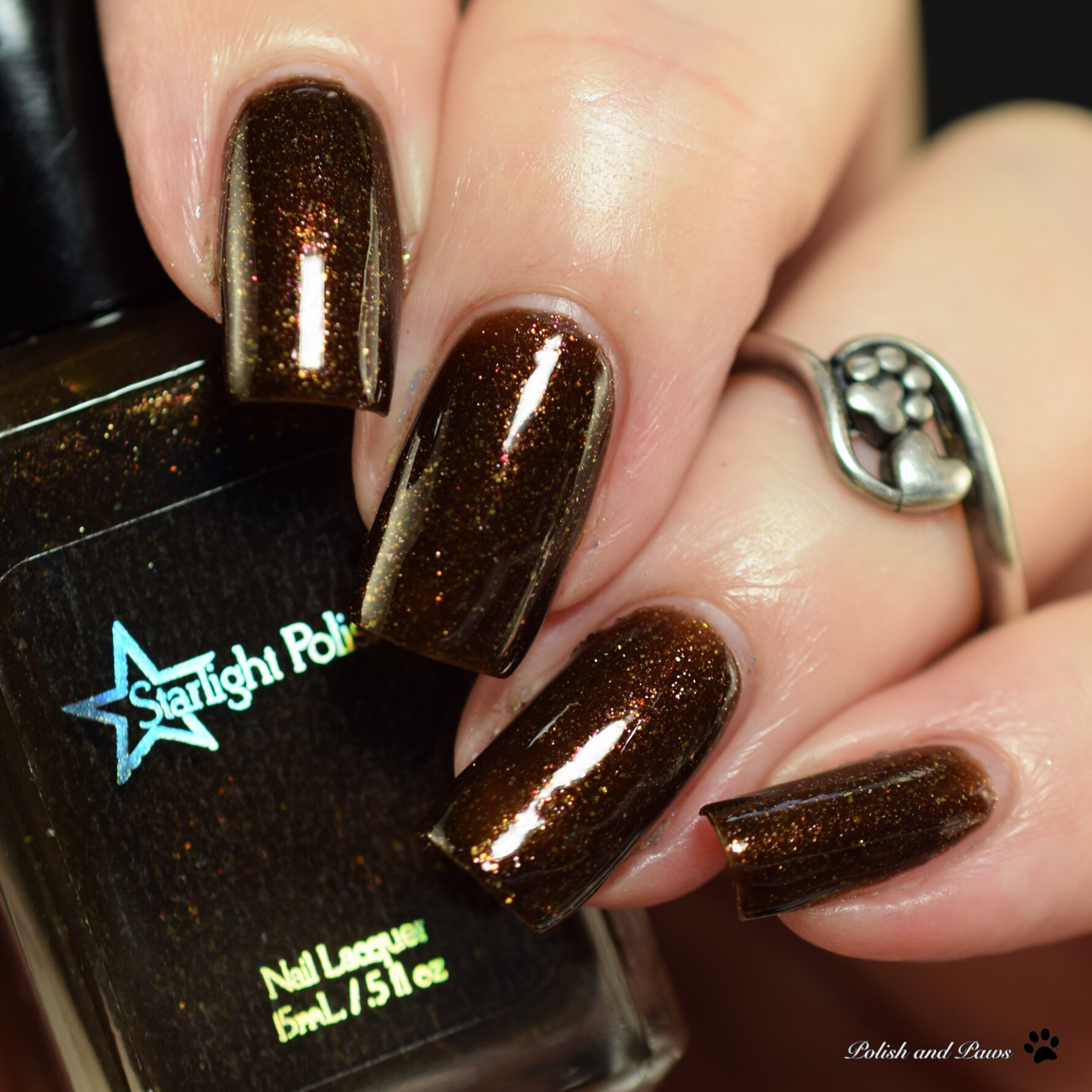 Starlight Polish Branches and Blossoms in Maki-e