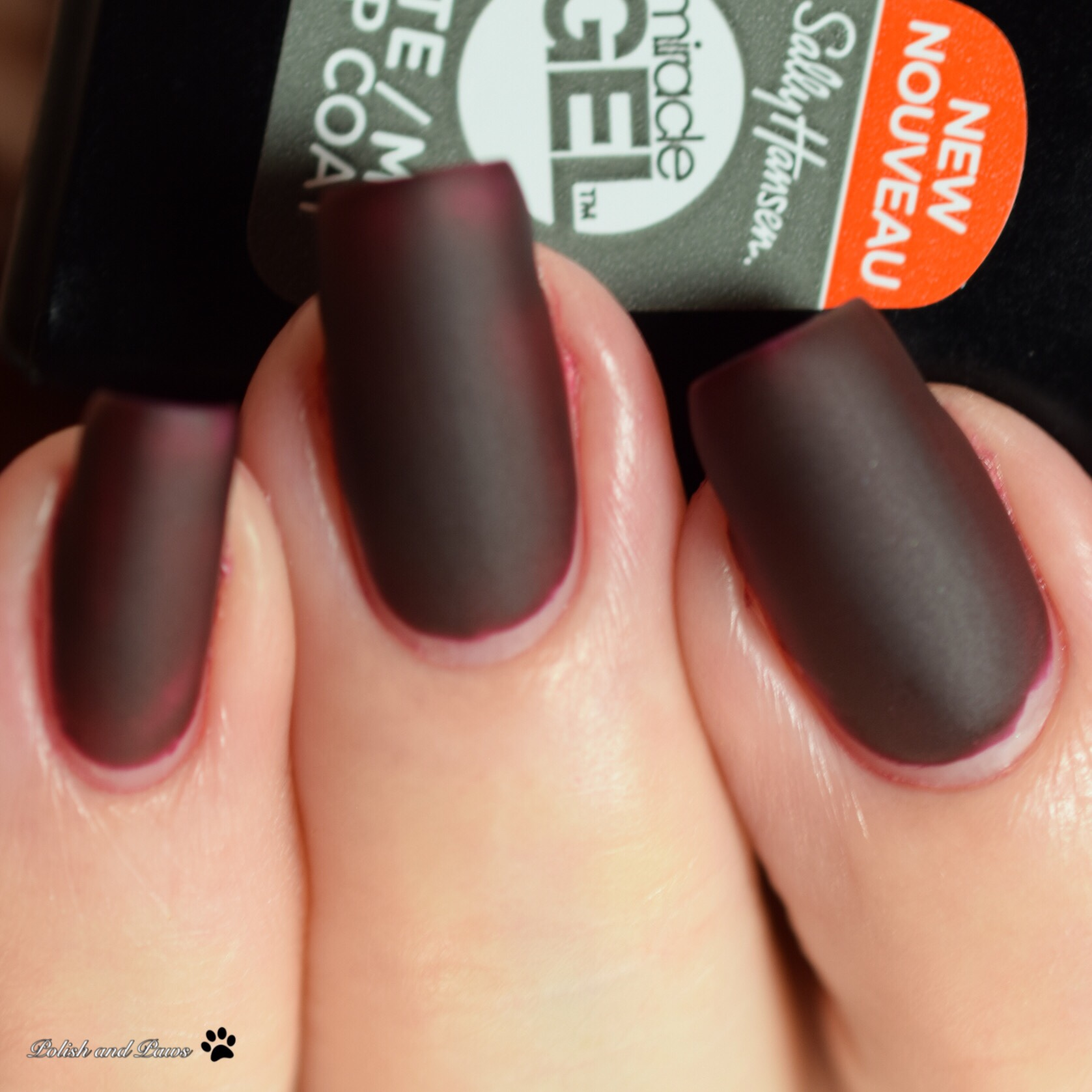 Sally Hansen Miracle Gel Wine Stock