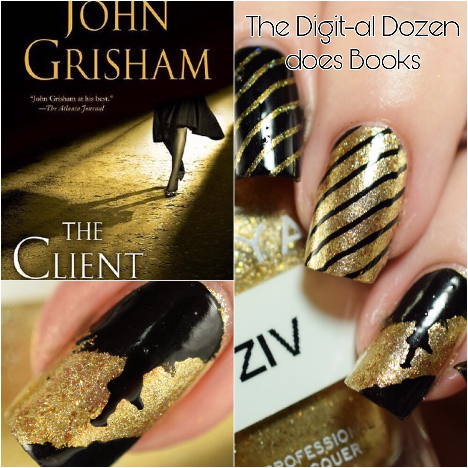 PolishandPaws Digital Dozen The Client book mani