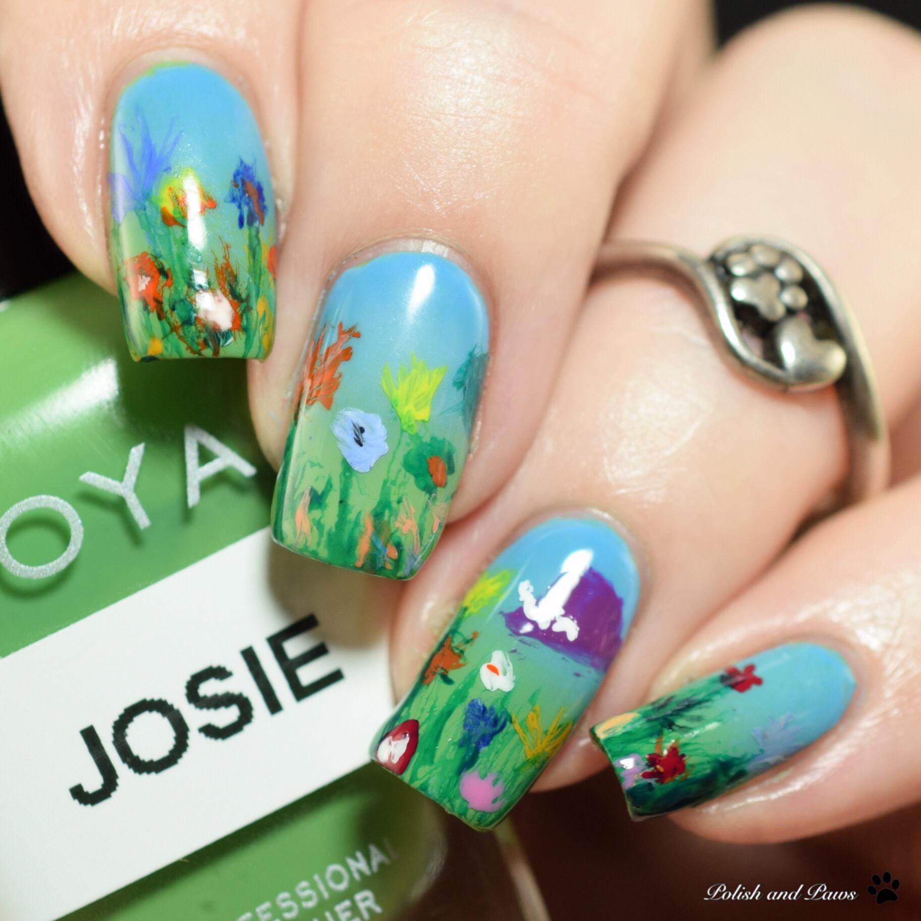 PolishandPaws Digital Dozen Miss Tizzy Book Nails