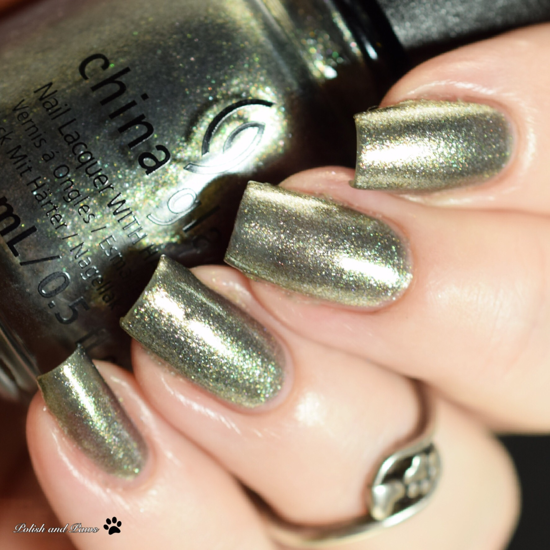 China Glaze I Still Beleaf