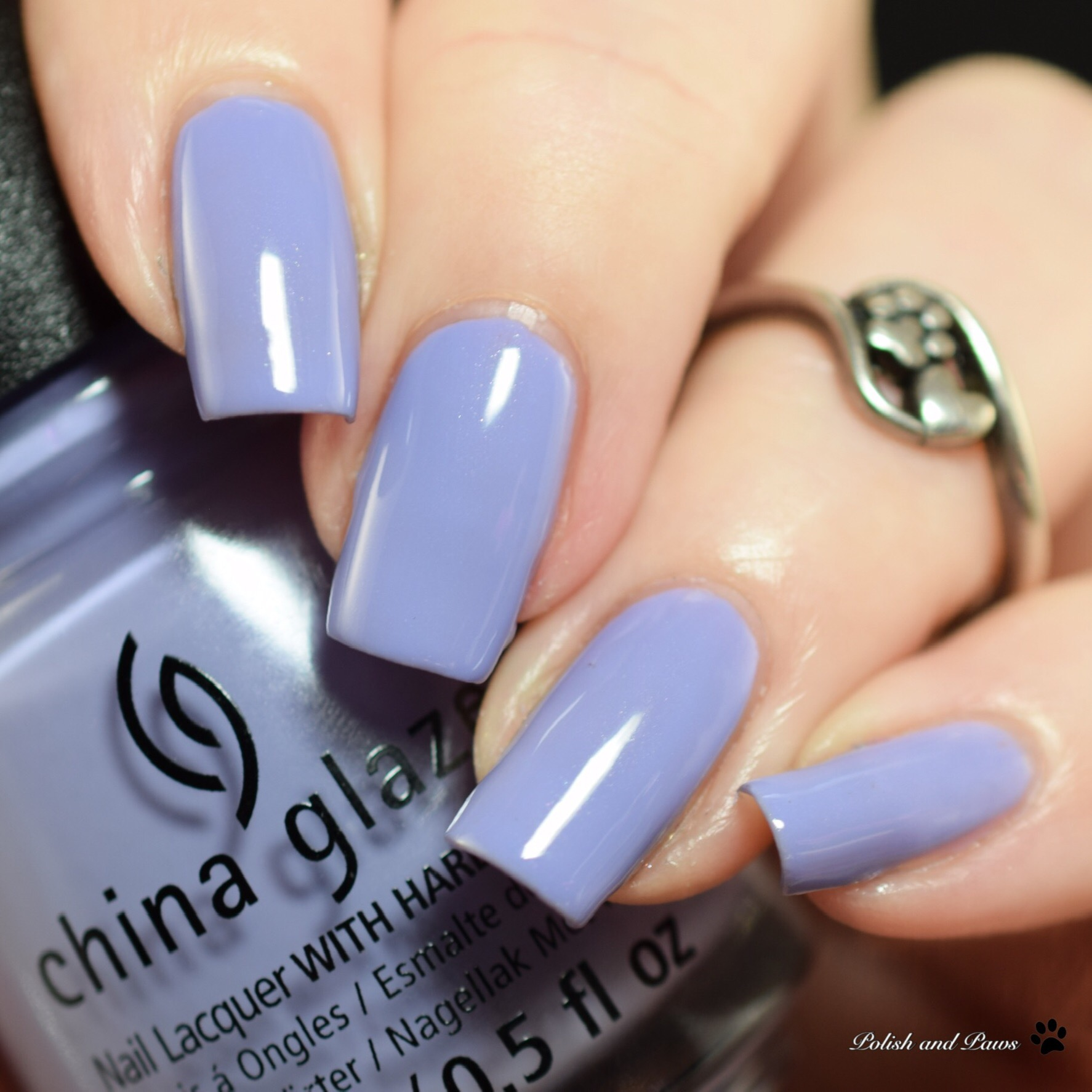 China Glaze Lavenduh!