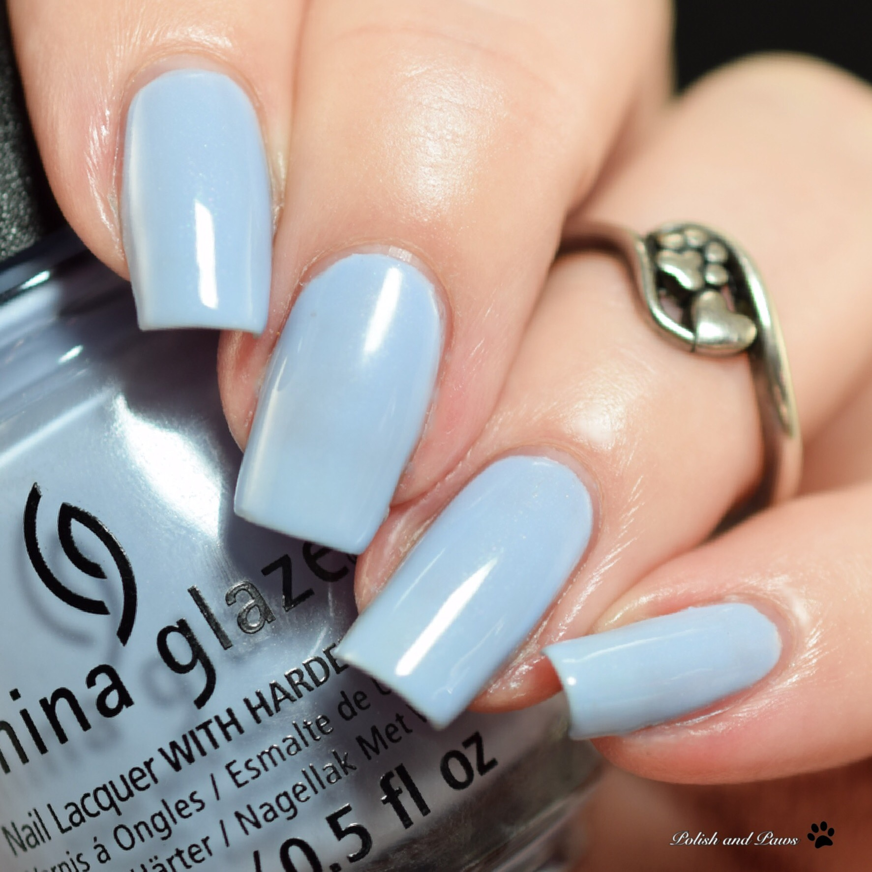 China Glaze Hydrangea Dangea
