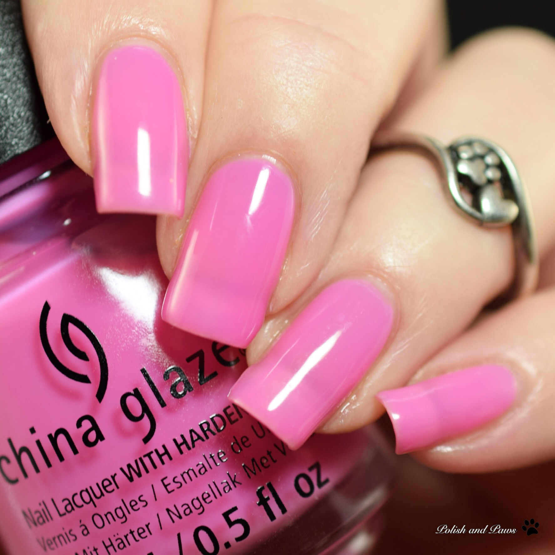 China Glaze There She Rose Again