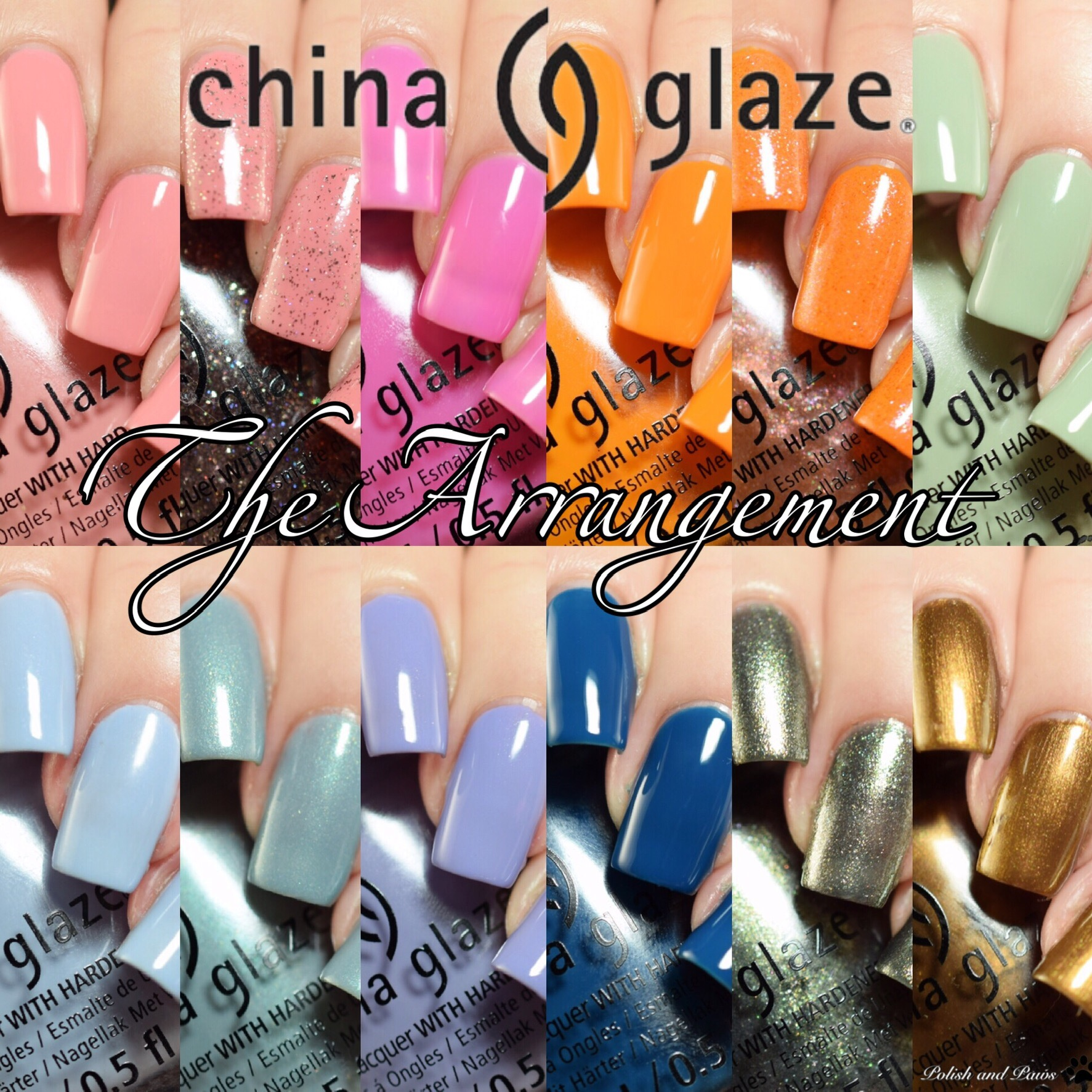 China Glaze The Arrangement Spring 2019