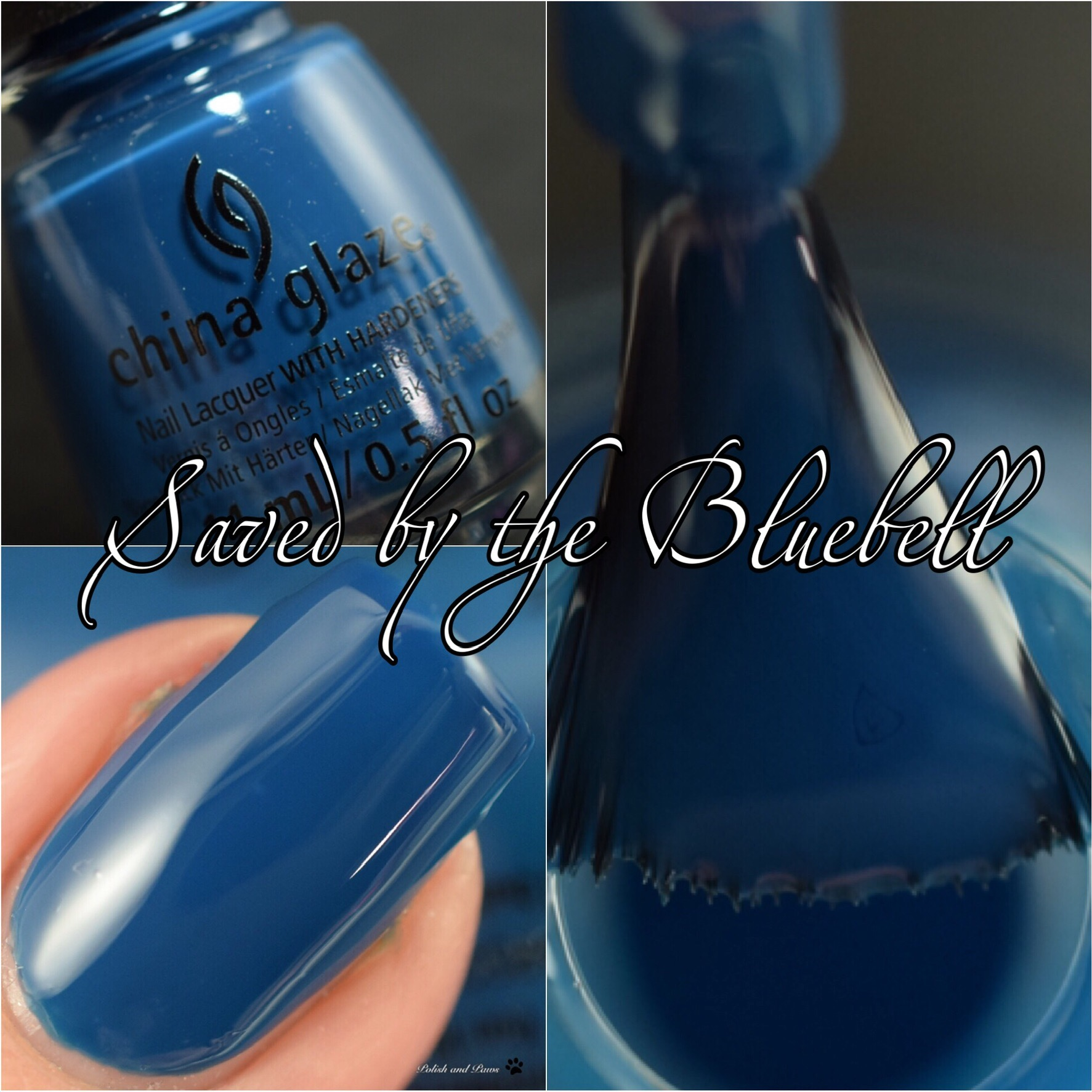 China Glaze Saved by the Bluebell