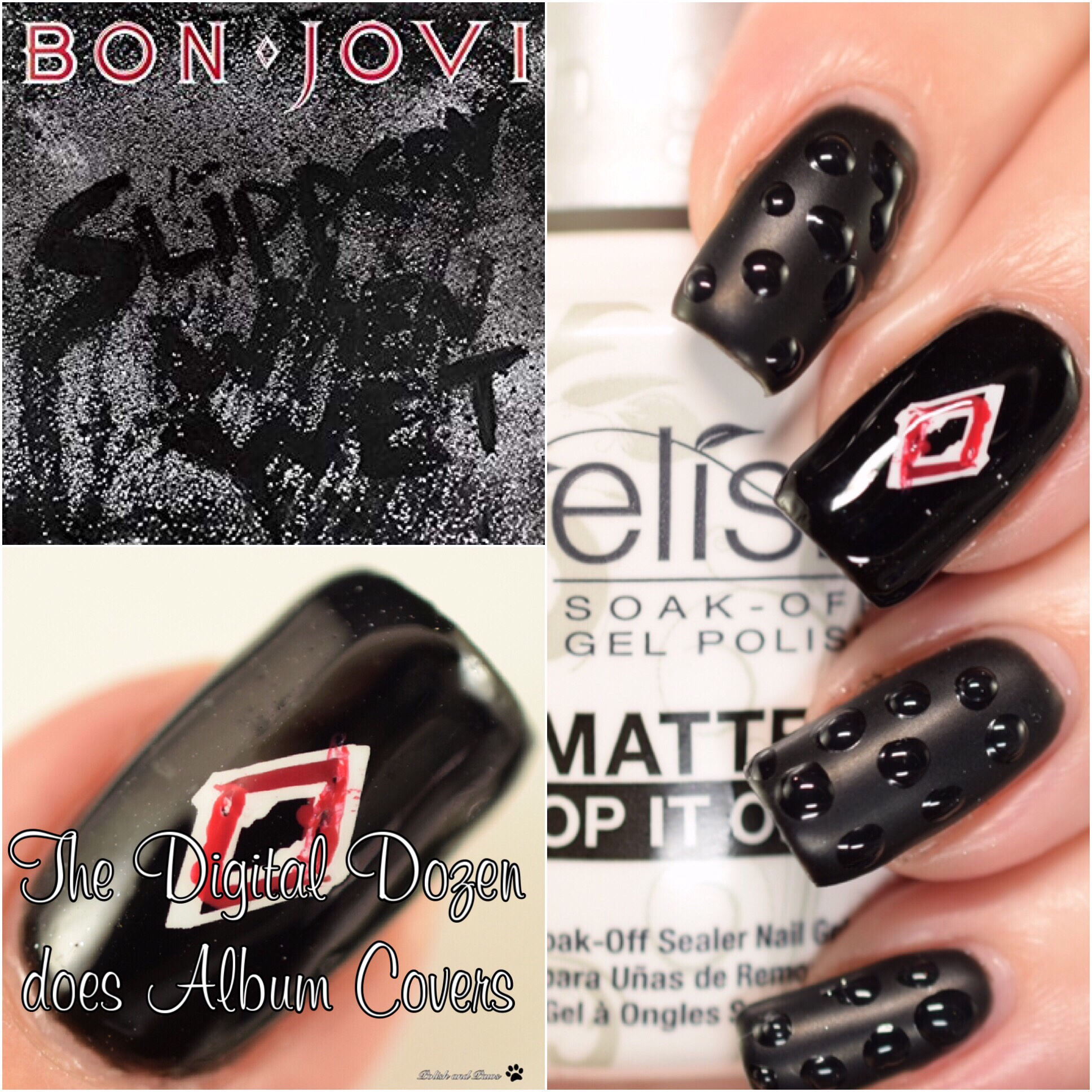 The Digit-al Dozen does Album Covers: Bon Jovi