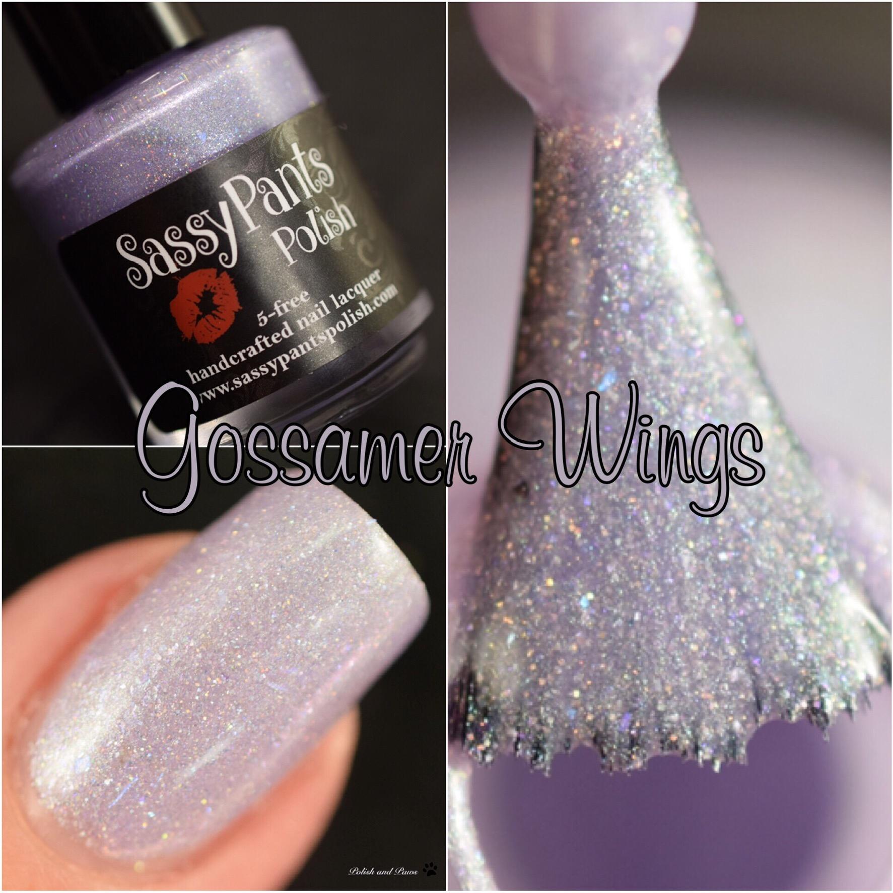Sassy Pants Polish Gossamer Wings