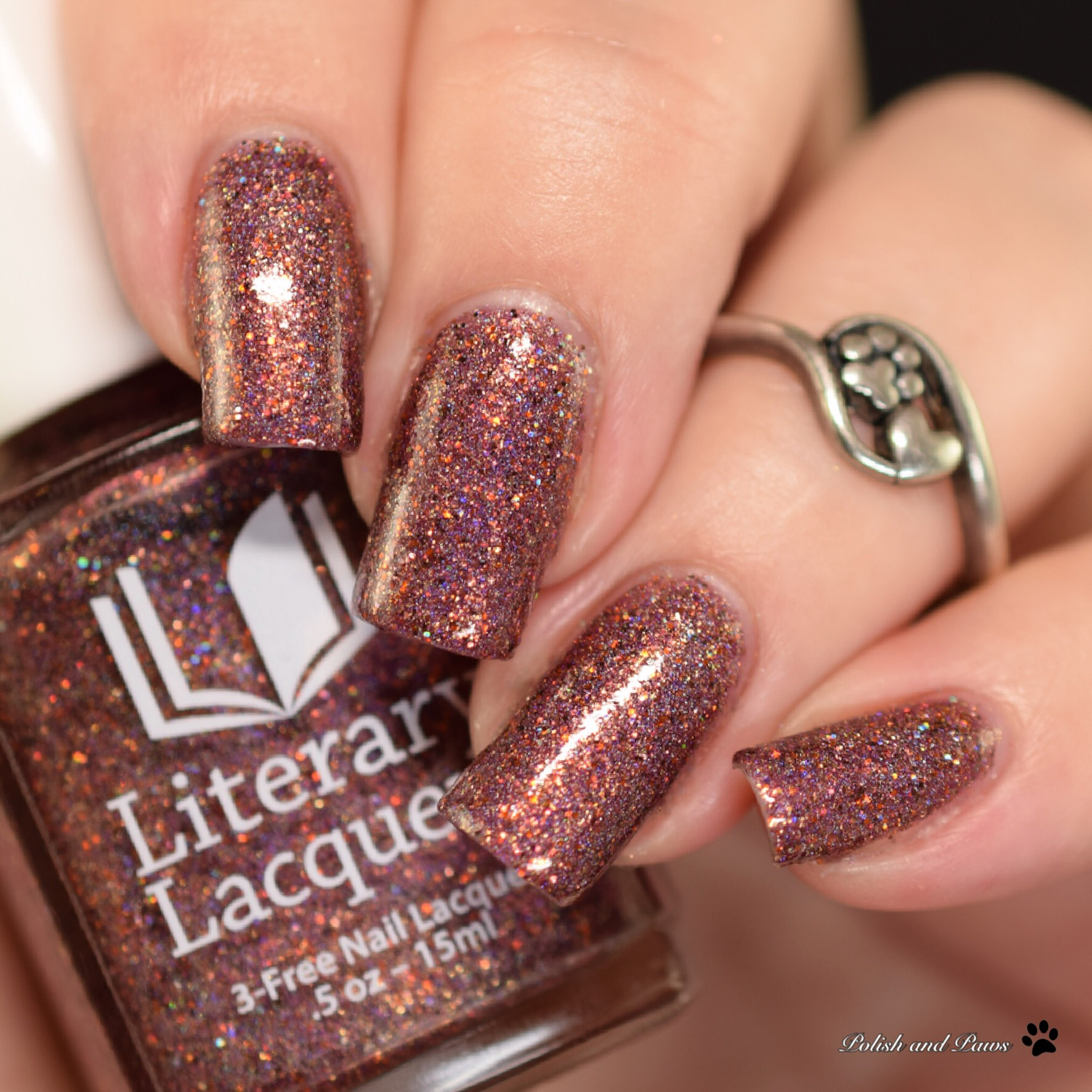 Literary Lacquers Autumn Fire