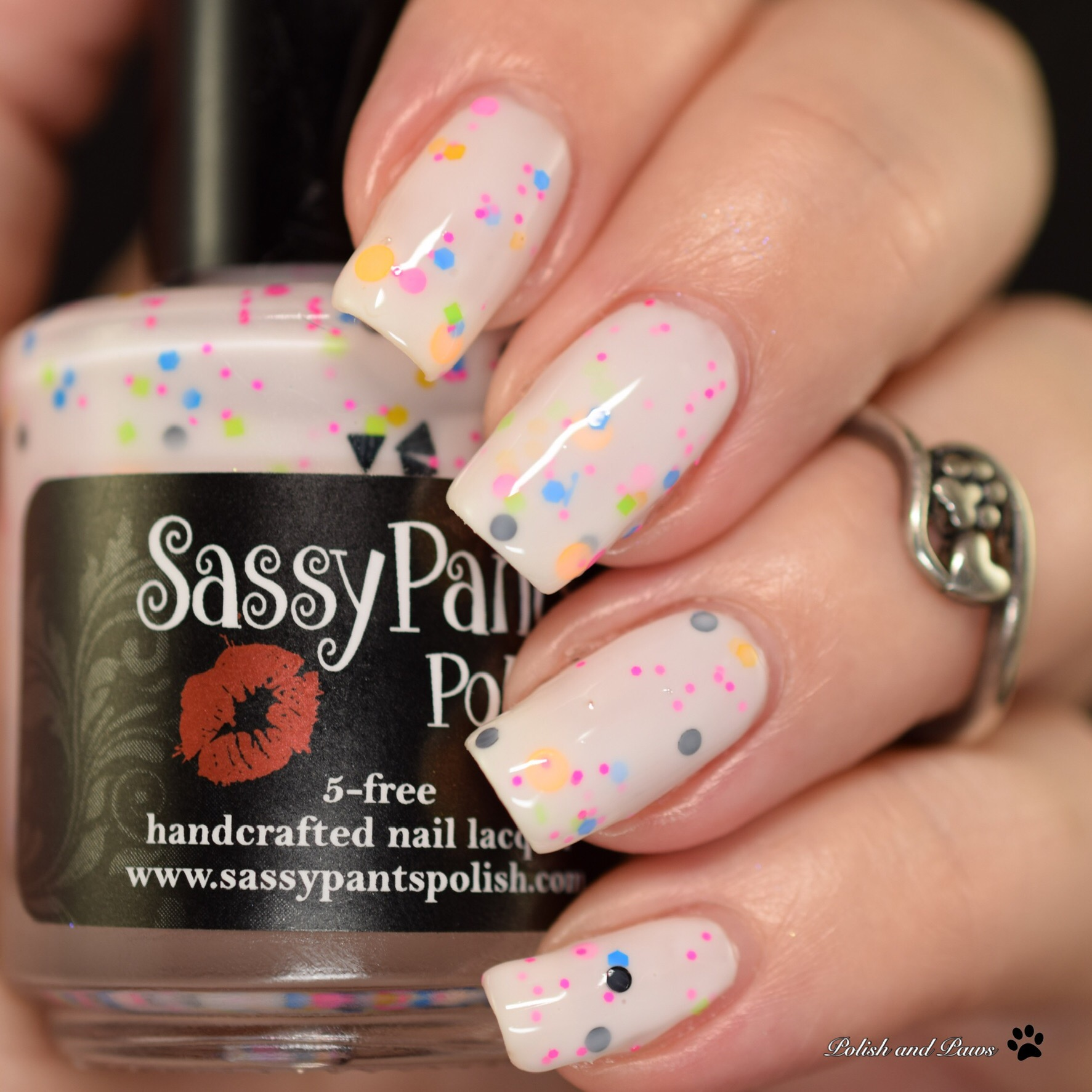 Sassy Pants Polish Watch Swatched