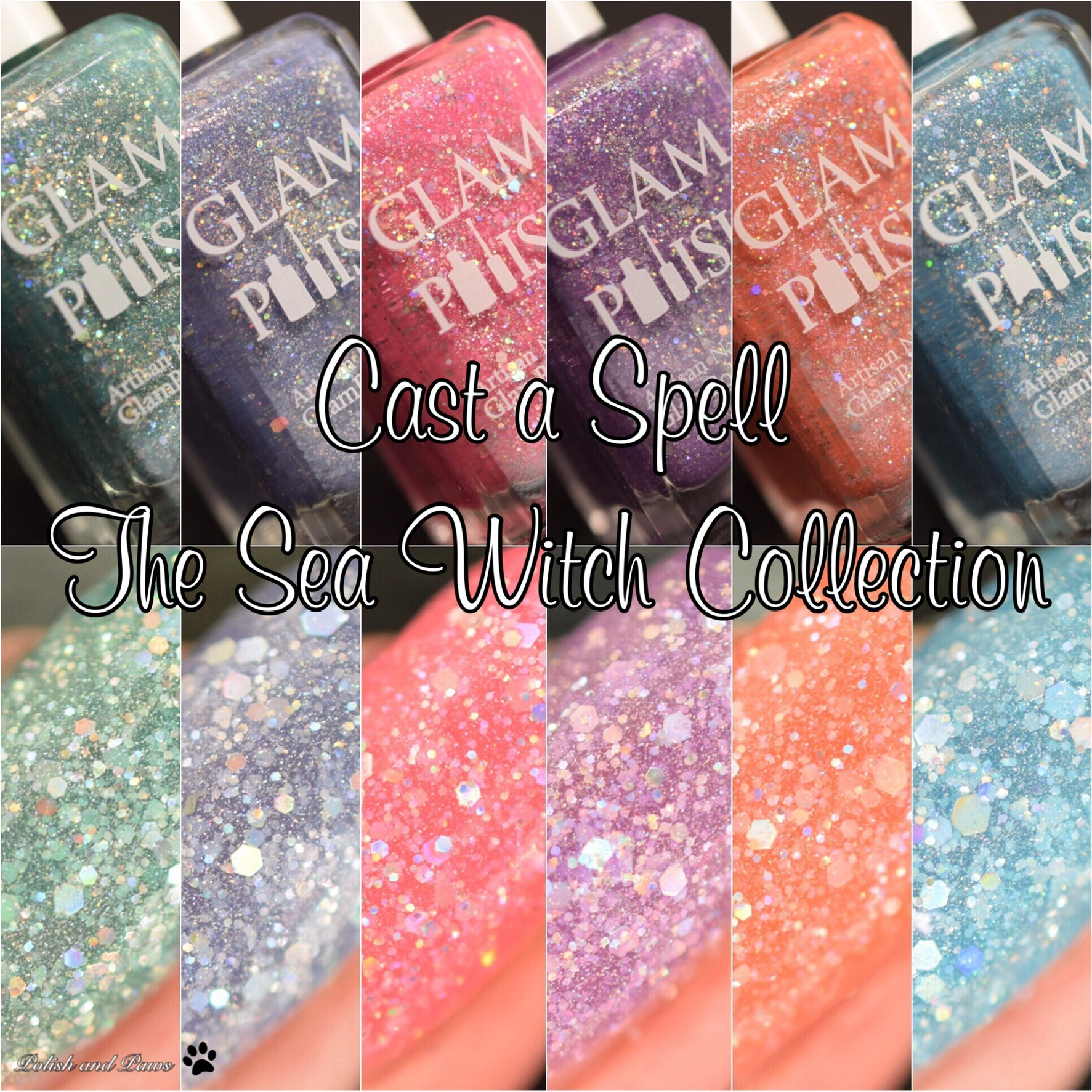 Glam Polish Sea Witch collection