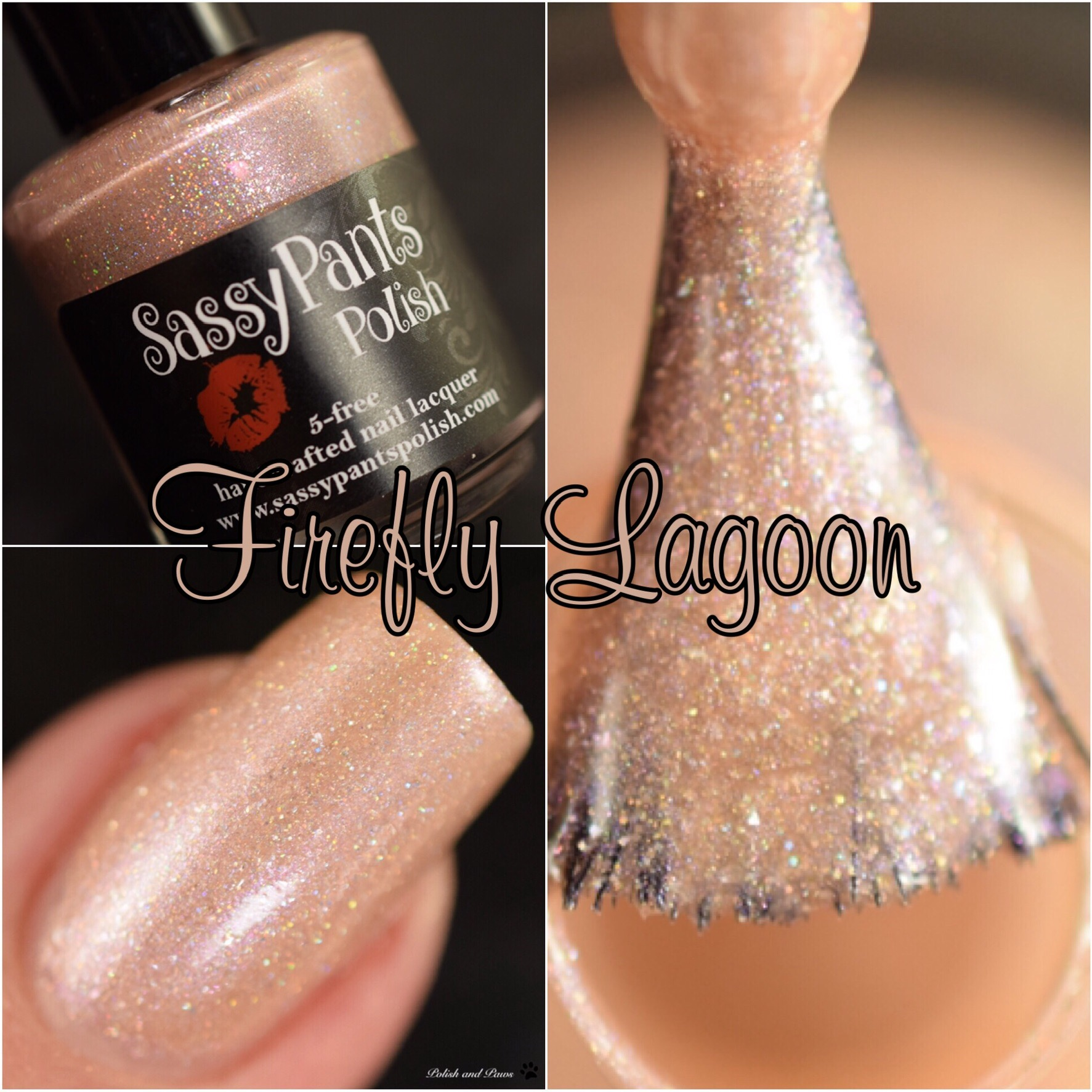 Sassy Pants Polish Firefly Lagoon