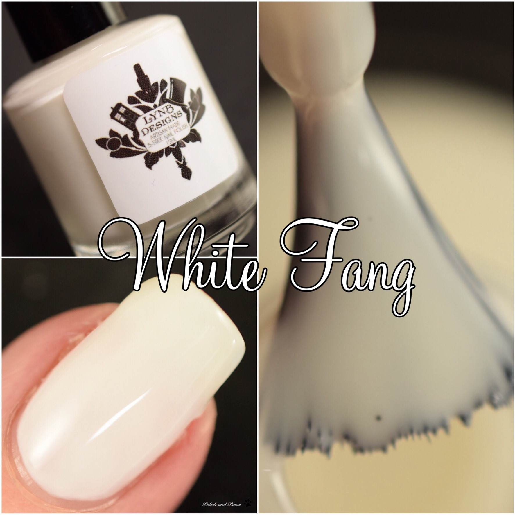 LynB Designs White Fang