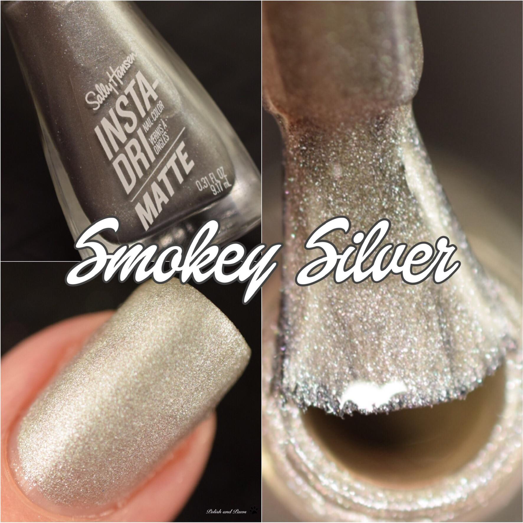 Sally Hansen Smokey Silver