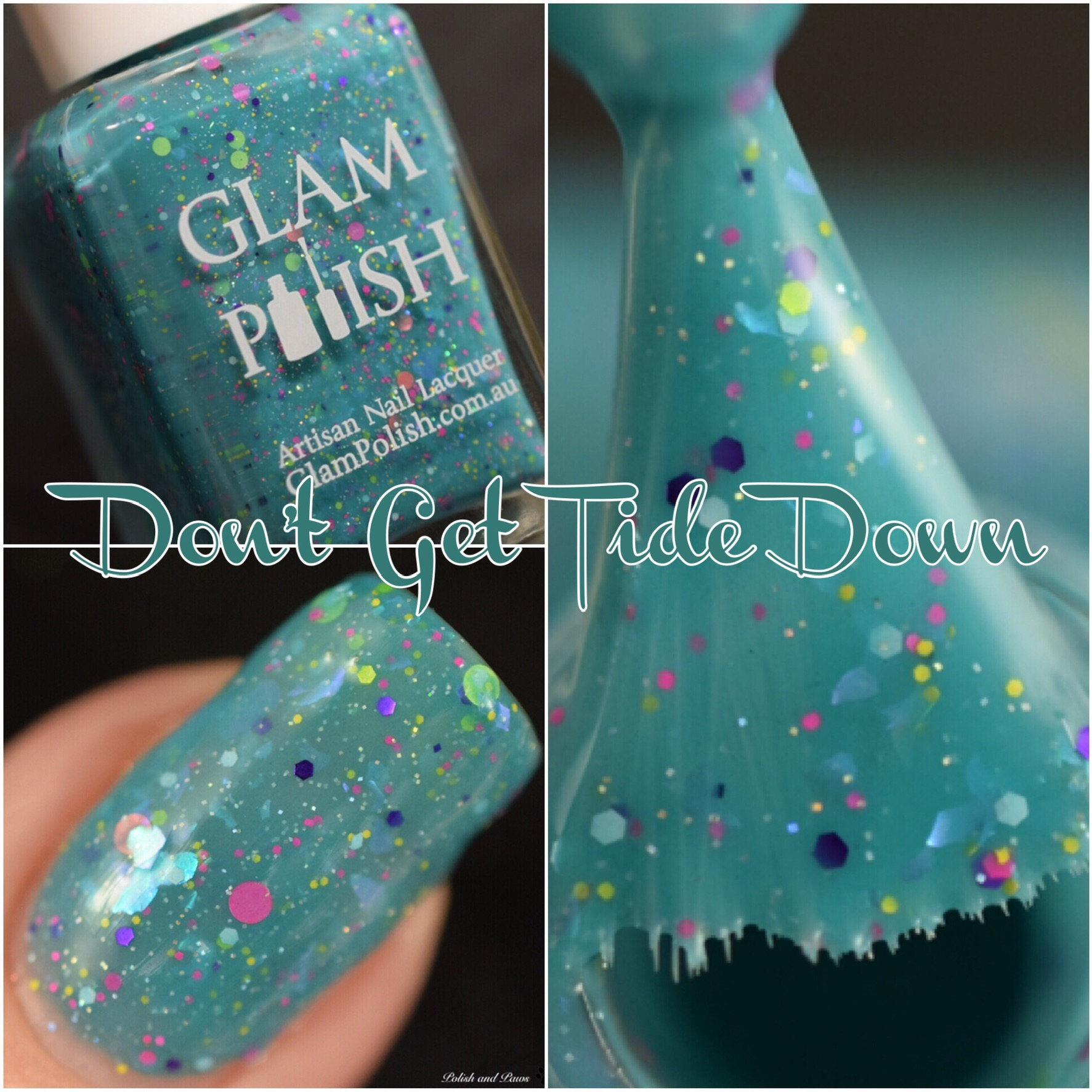 Glam Polish Don't Get Tide Down