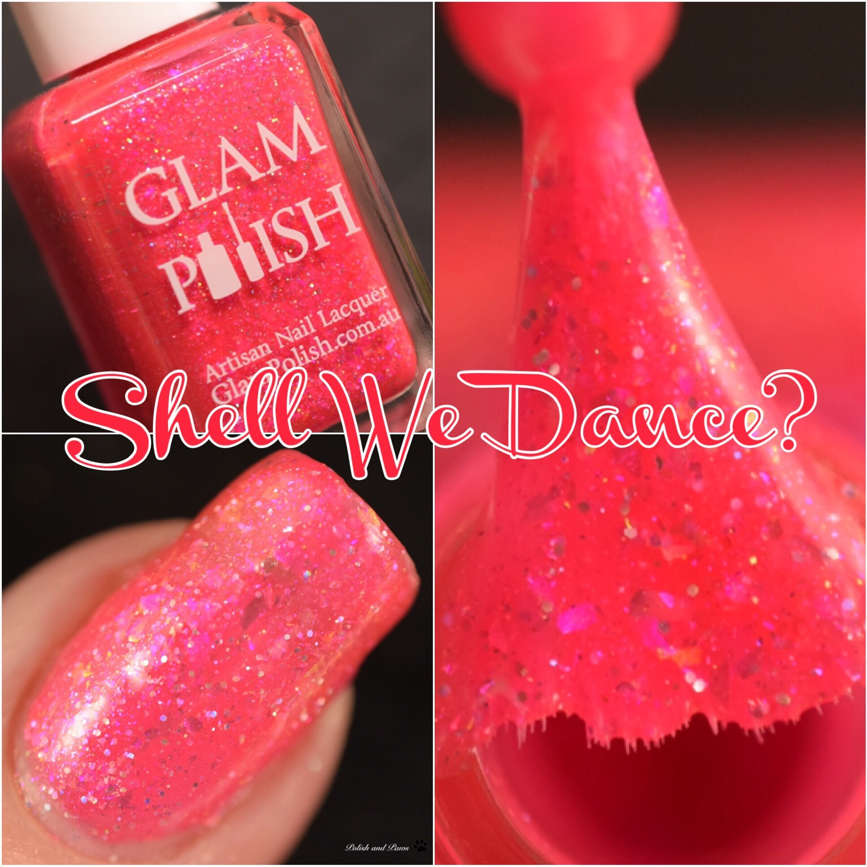 Glam Polish Shell We Dance?