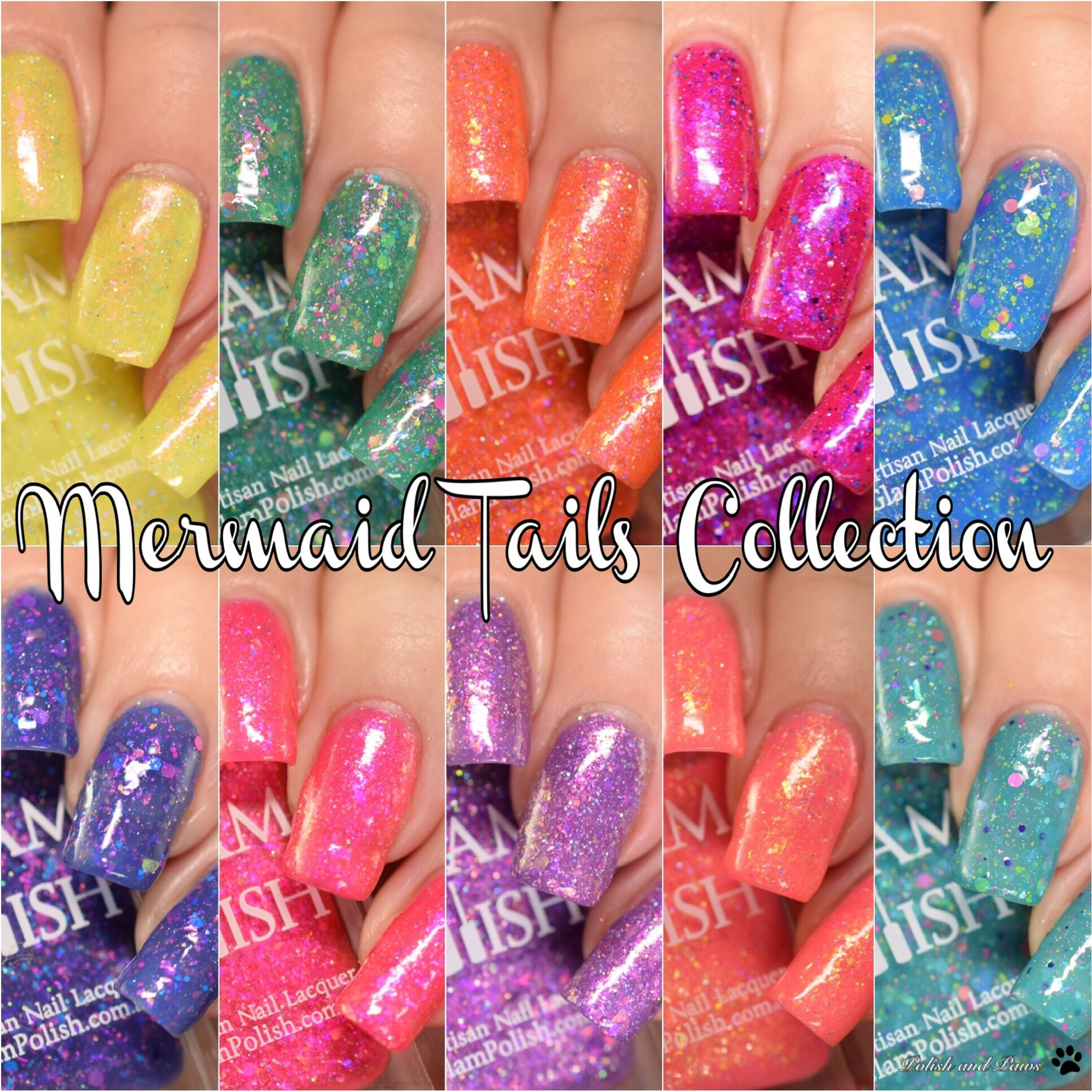 Glam Polish Mermaid Tails Collection, Part II