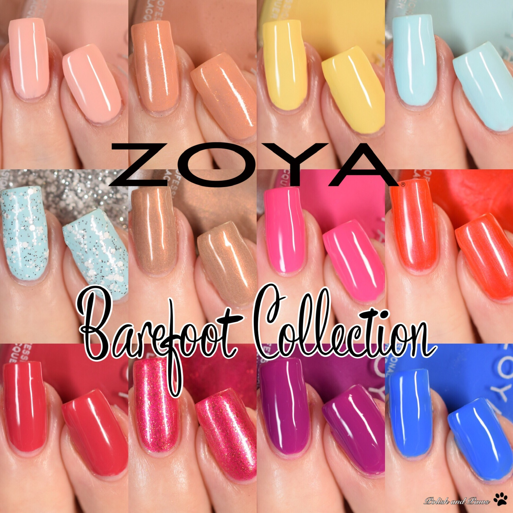 Zoya Barefoot Collection