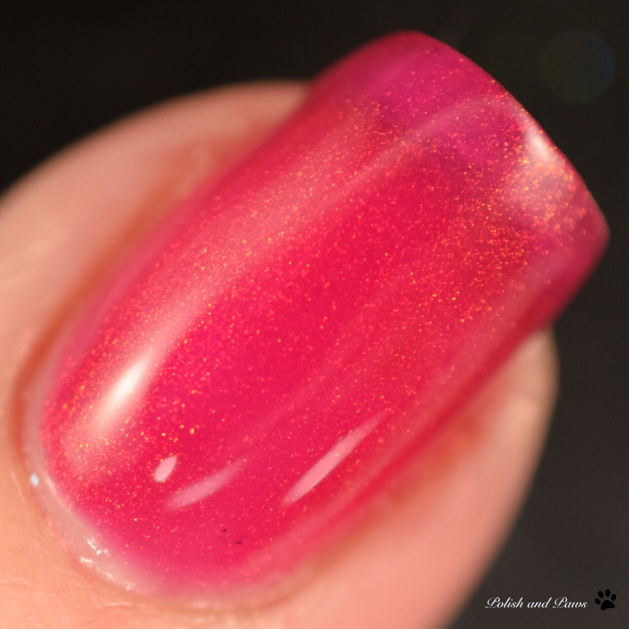 Starlight Polish Fuchsia Fire